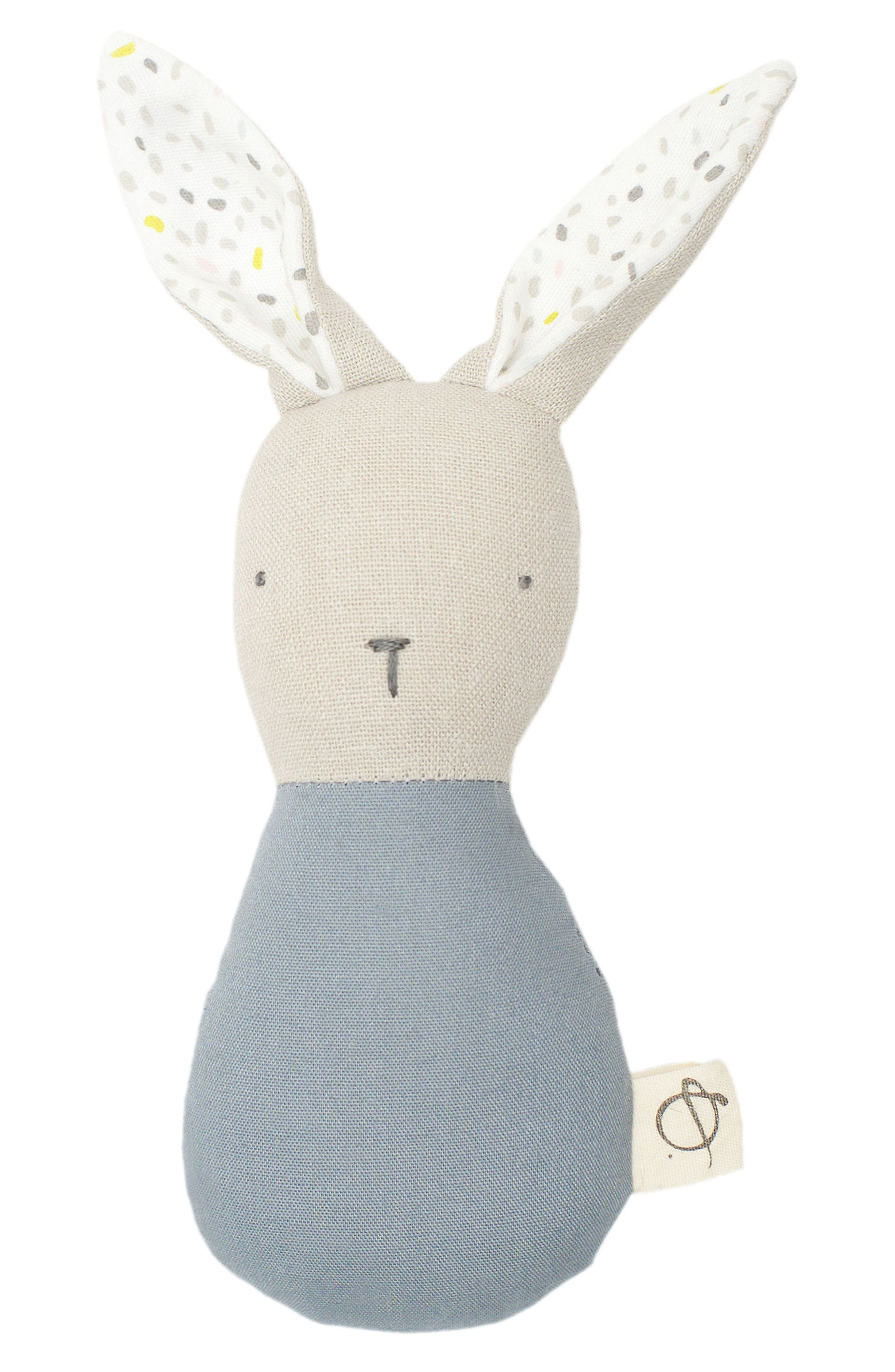 ouistitine x Petit Pehr Magic Forest Bunny Rattle,                         Main,                         color, Blue
