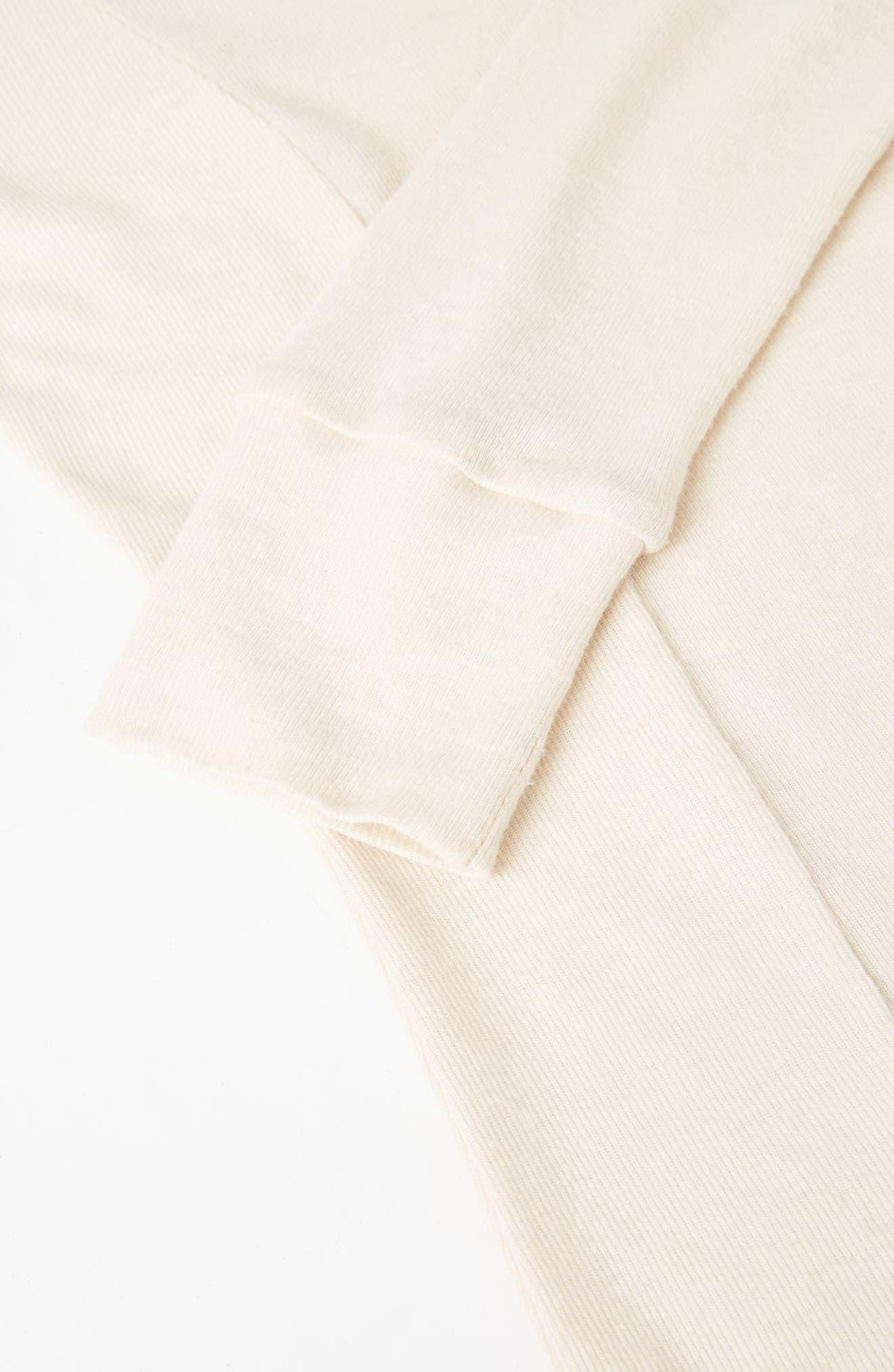 Wool Turtleneck Sweater,                             Alternate thumbnail 3, color,                             Cream