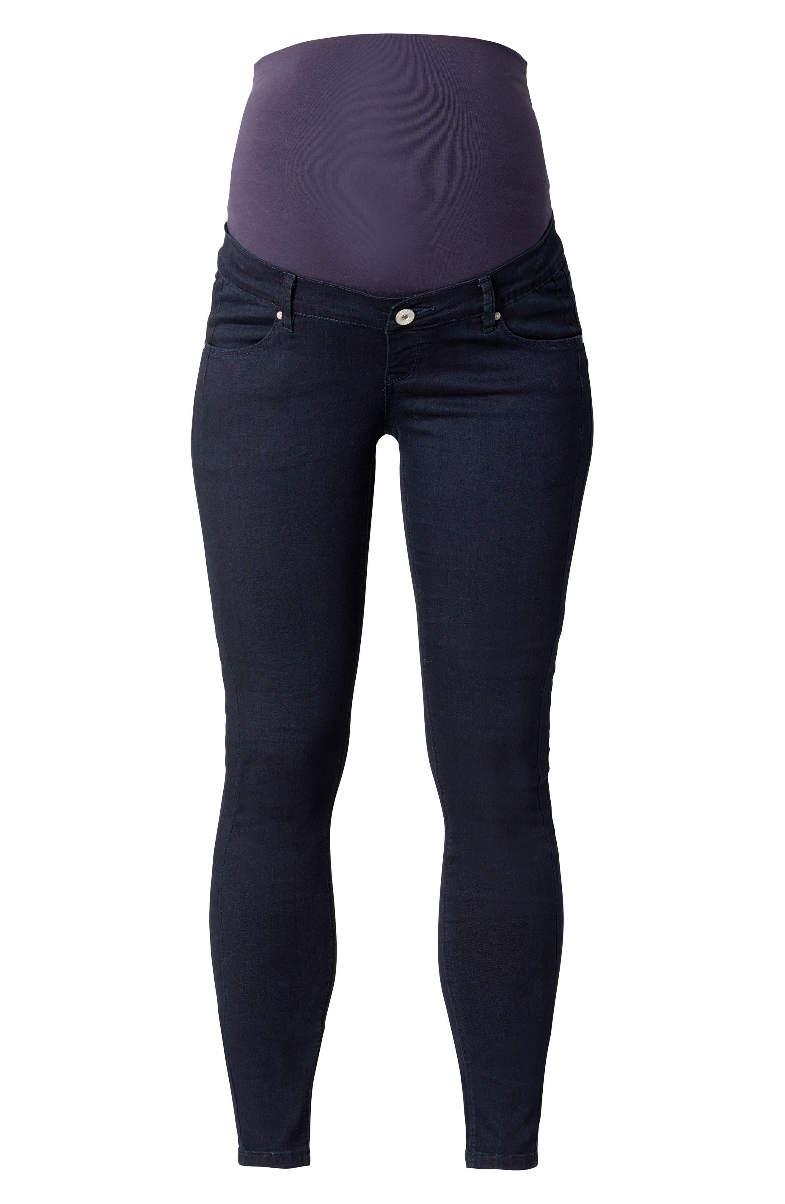 Alternate Image 1 Selected - Noppies Avi Over the Belly Maternity Skinny Jeans