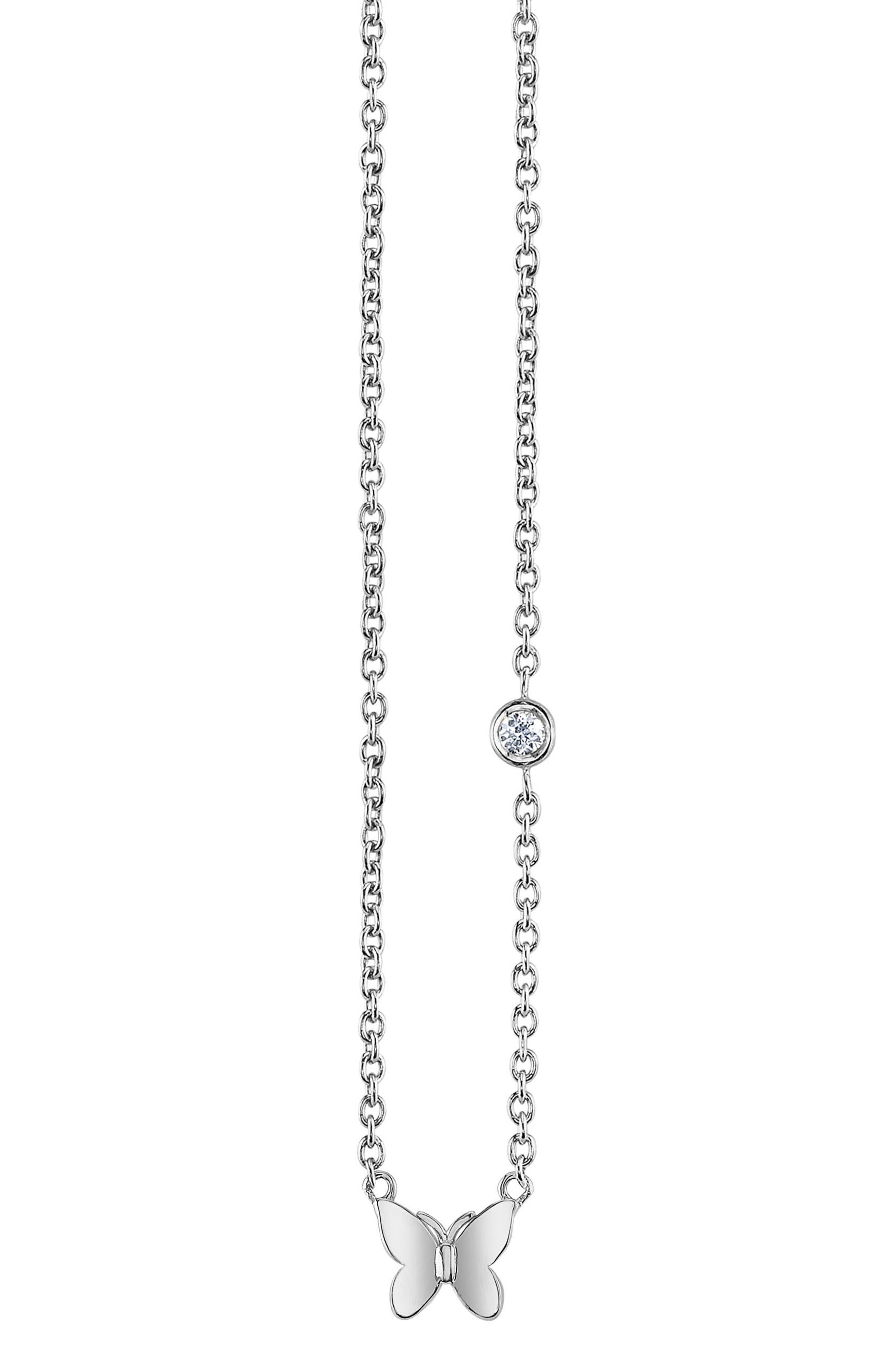 Shy by SE Butterfly Pendant Necklace