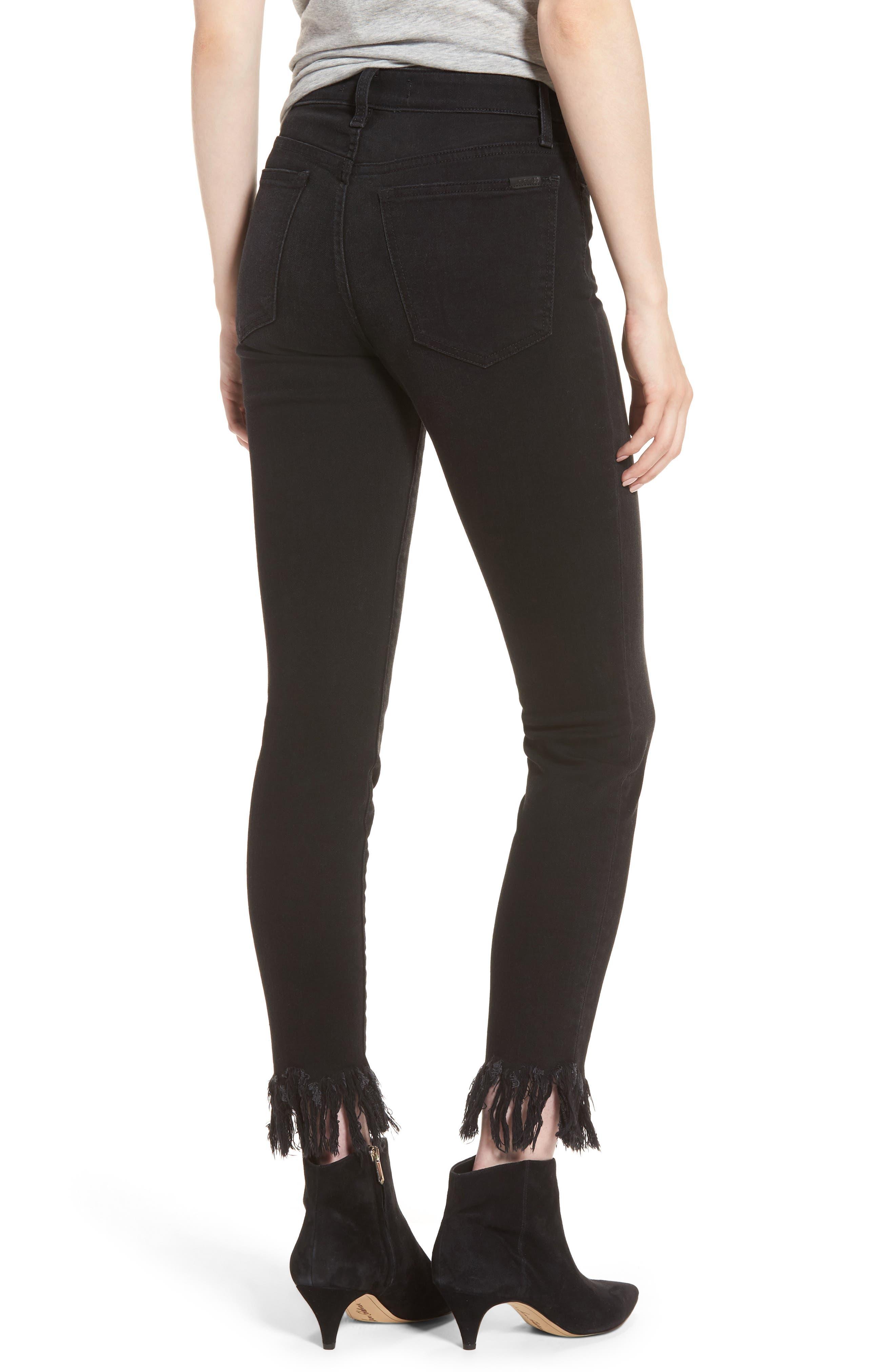 Alternate Image 2  - Joe's Charlie High Waist Ankle Skinny Jeans (Shellie)