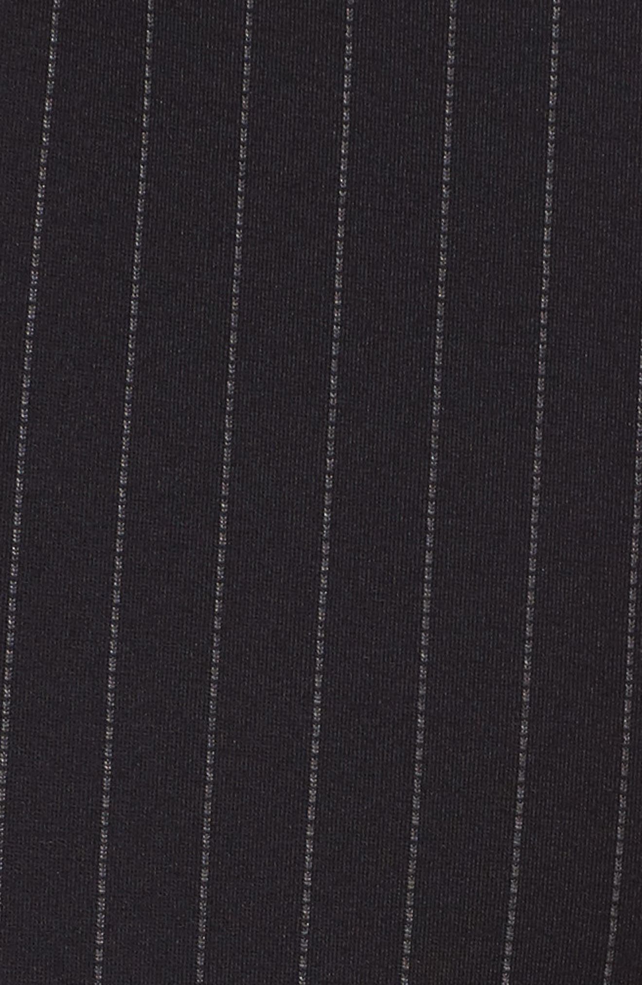 Alternate Image 5  - Kenneth Cole New York Pinstripe Leggings