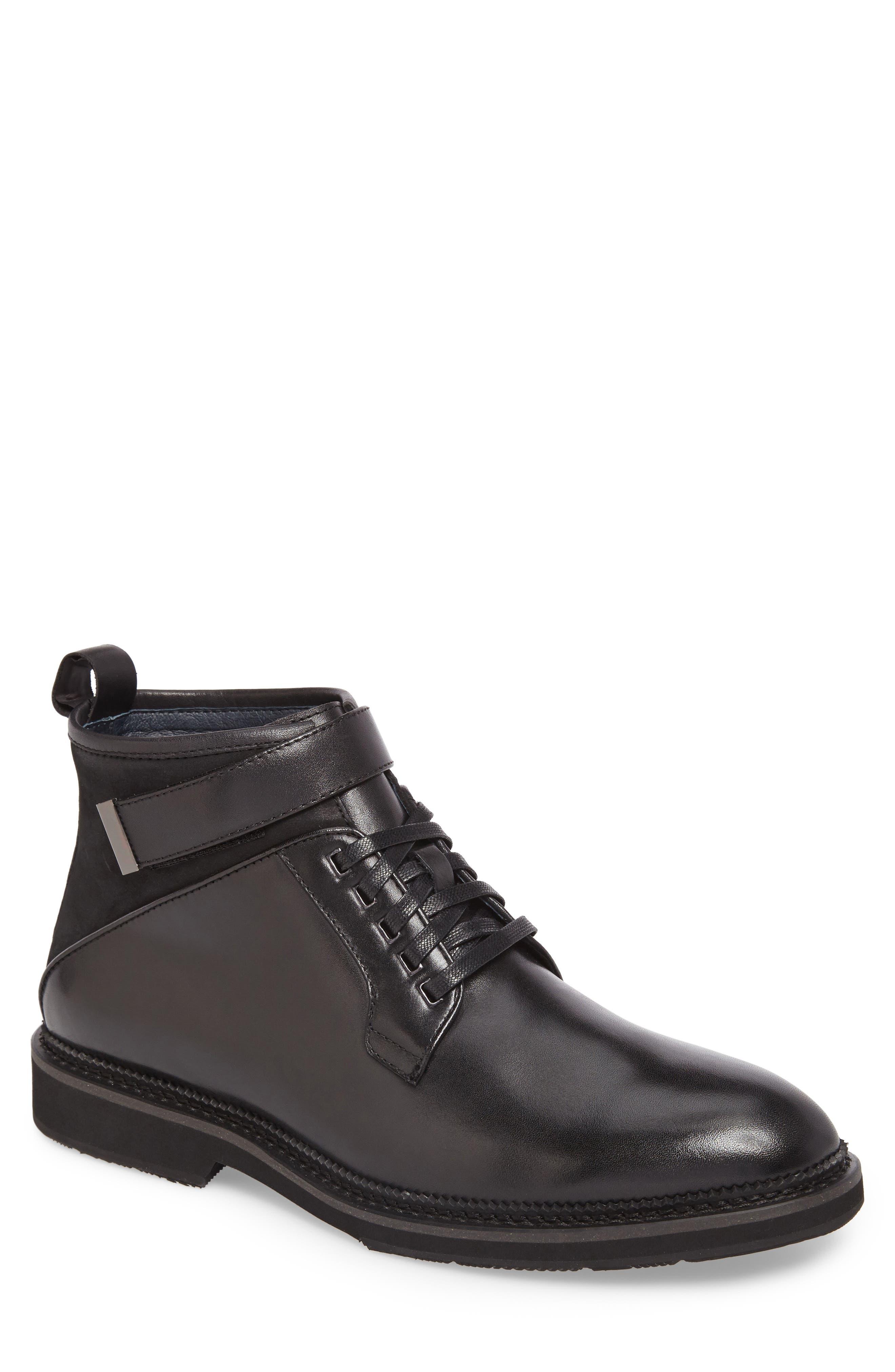 Alternate Image 1 Selected - Zanzara Ginko Plain Toe Boot (Men)