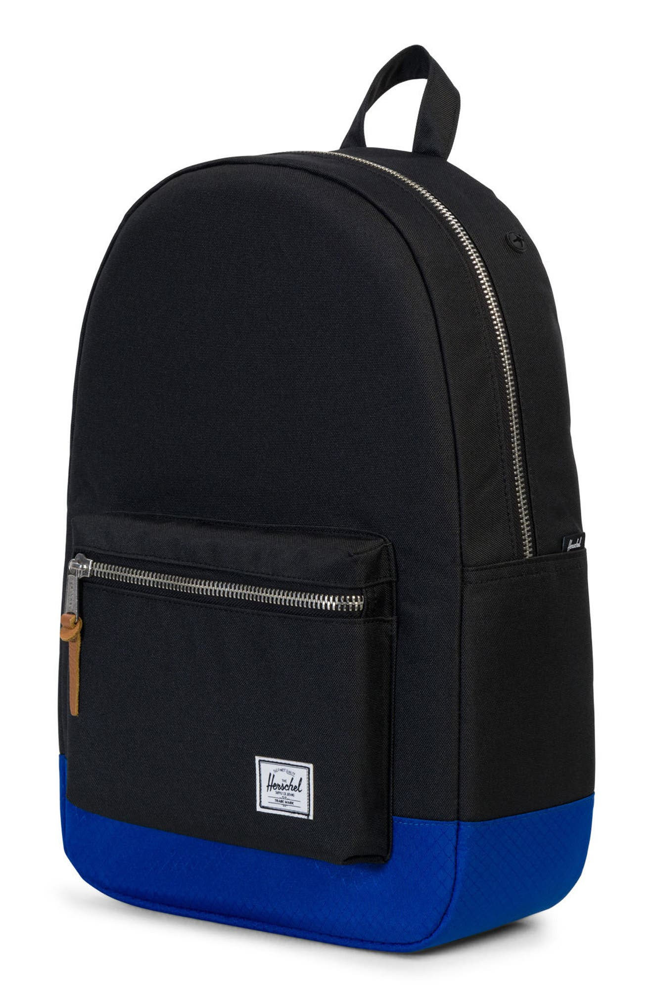 Settlement Backpack,                             Alternate thumbnail 4, color,                             Black/ Surf The Web