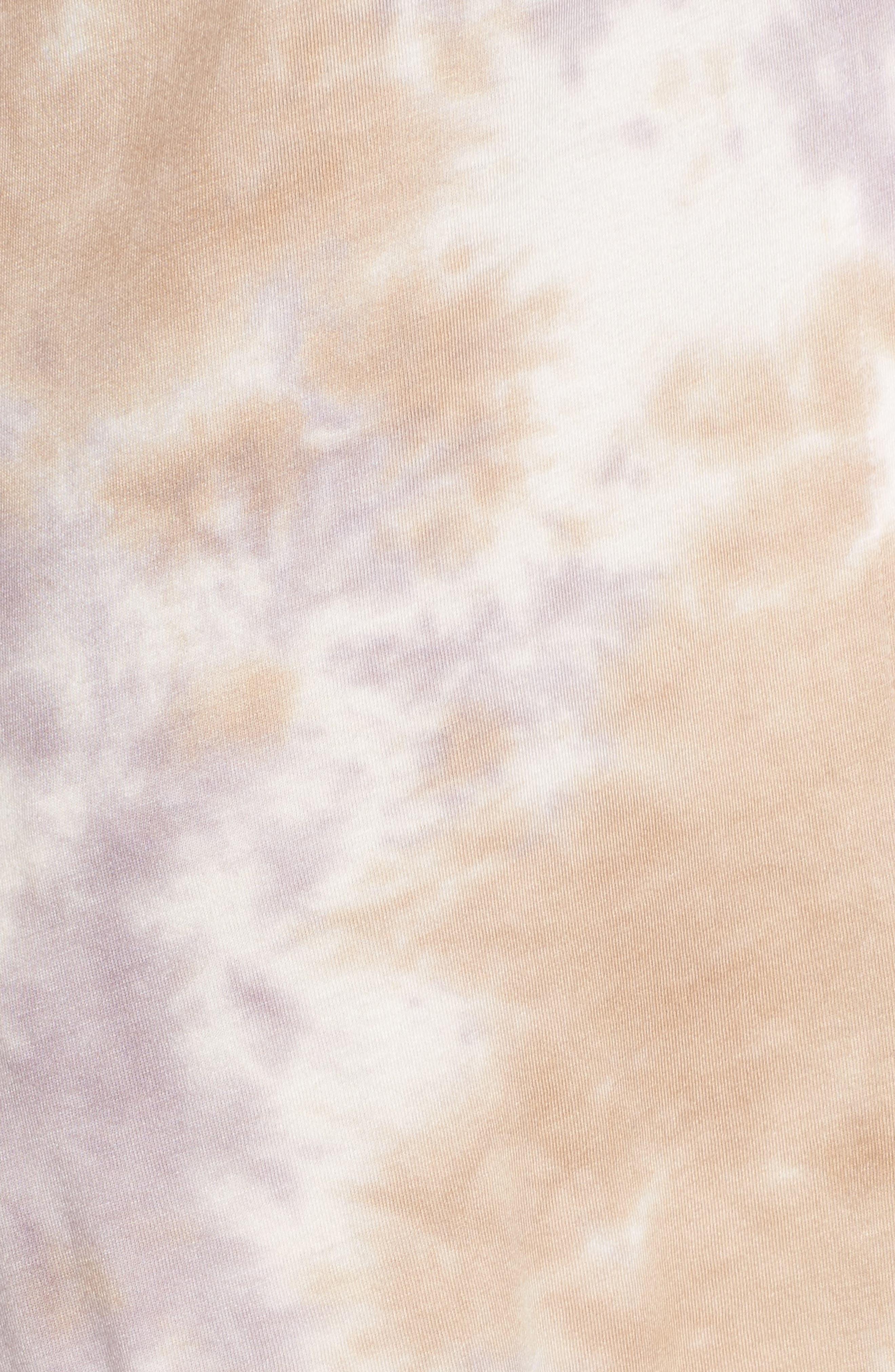 Christine Slim Leg Pajamas,                             Alternate thumbnail 6, color,                             Ash Violet