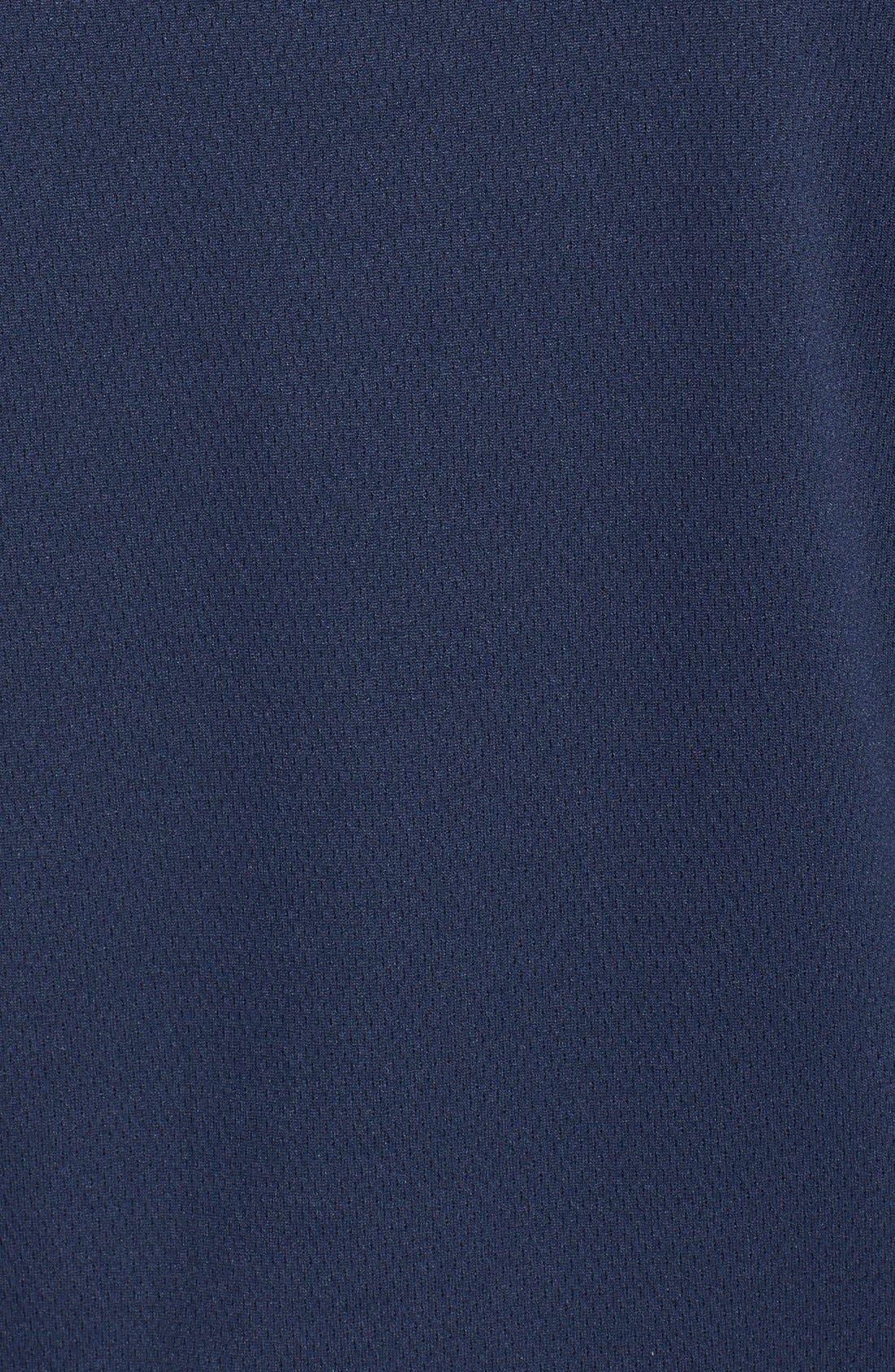 Tennessee Titans - Edge DryTec Moisture Wicking Half Zip Pullover,                             Alternate thumbnail 3, color,                             Navy Blue