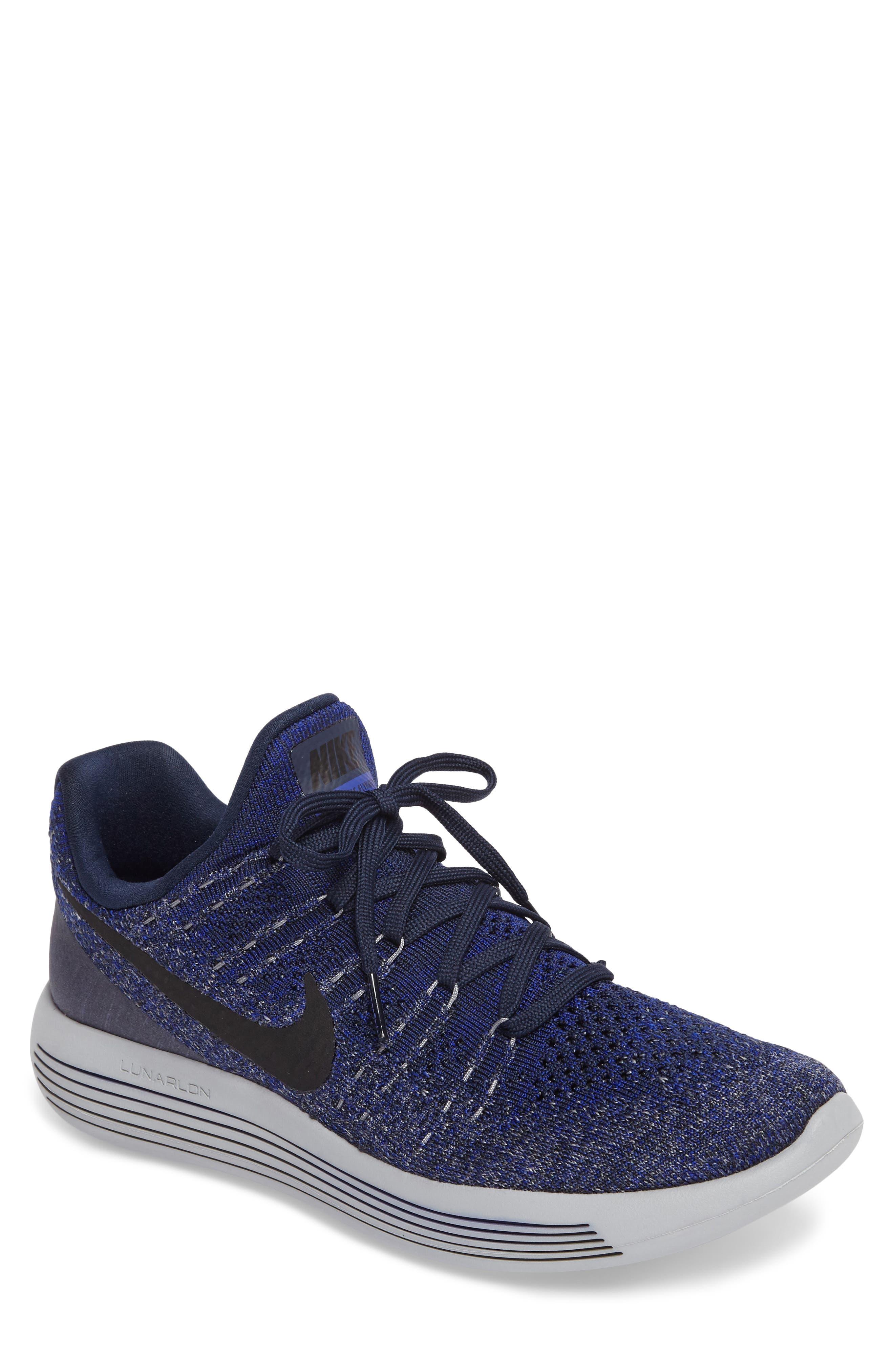 Main Image - Nike Flyknit 2 LunarEpic Running Shoe (Men)