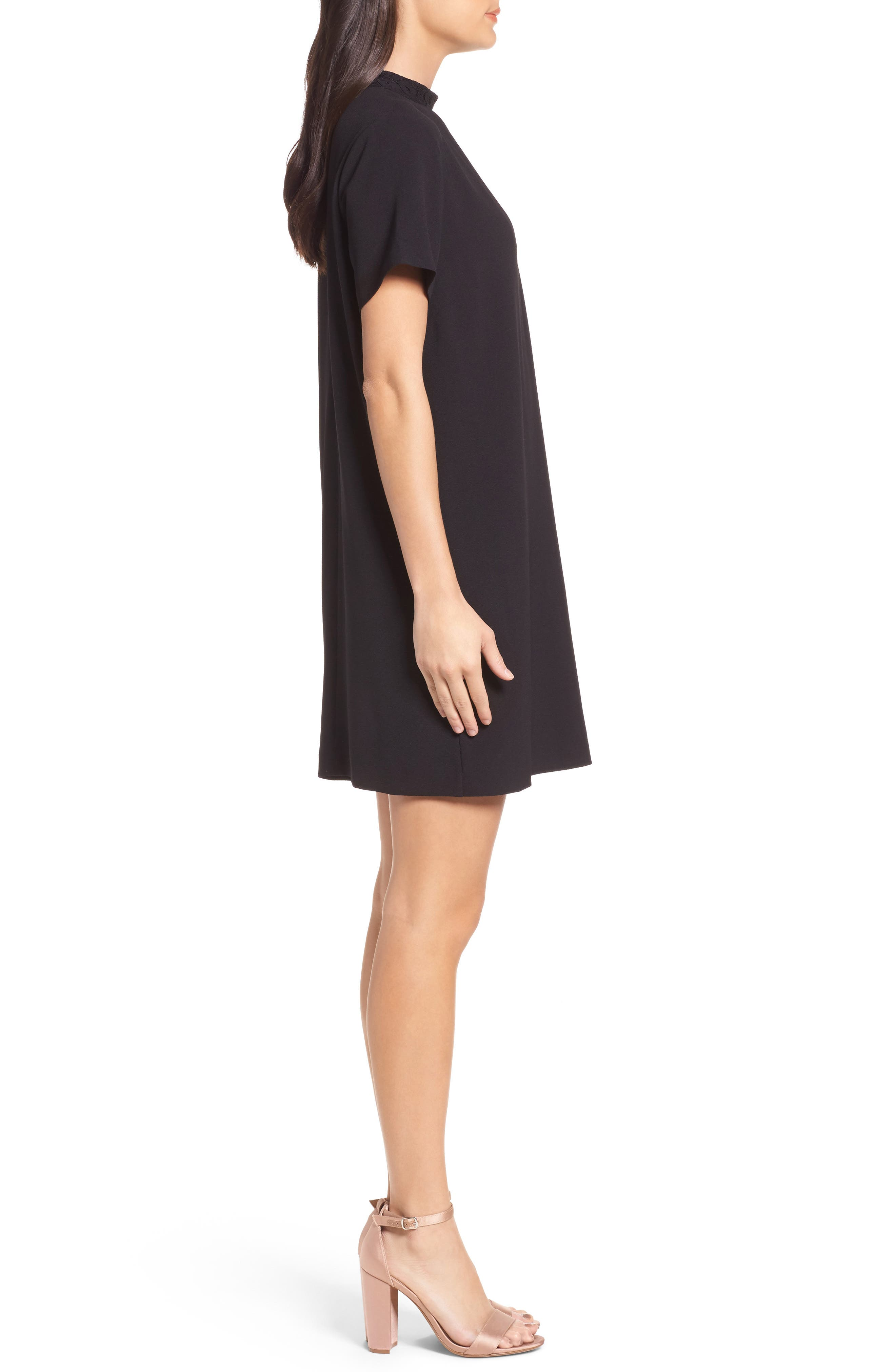 Alternate Image 3  - Felicity & Coco Kimberly Choker Shift Dress (Nordstrom Exclusive)