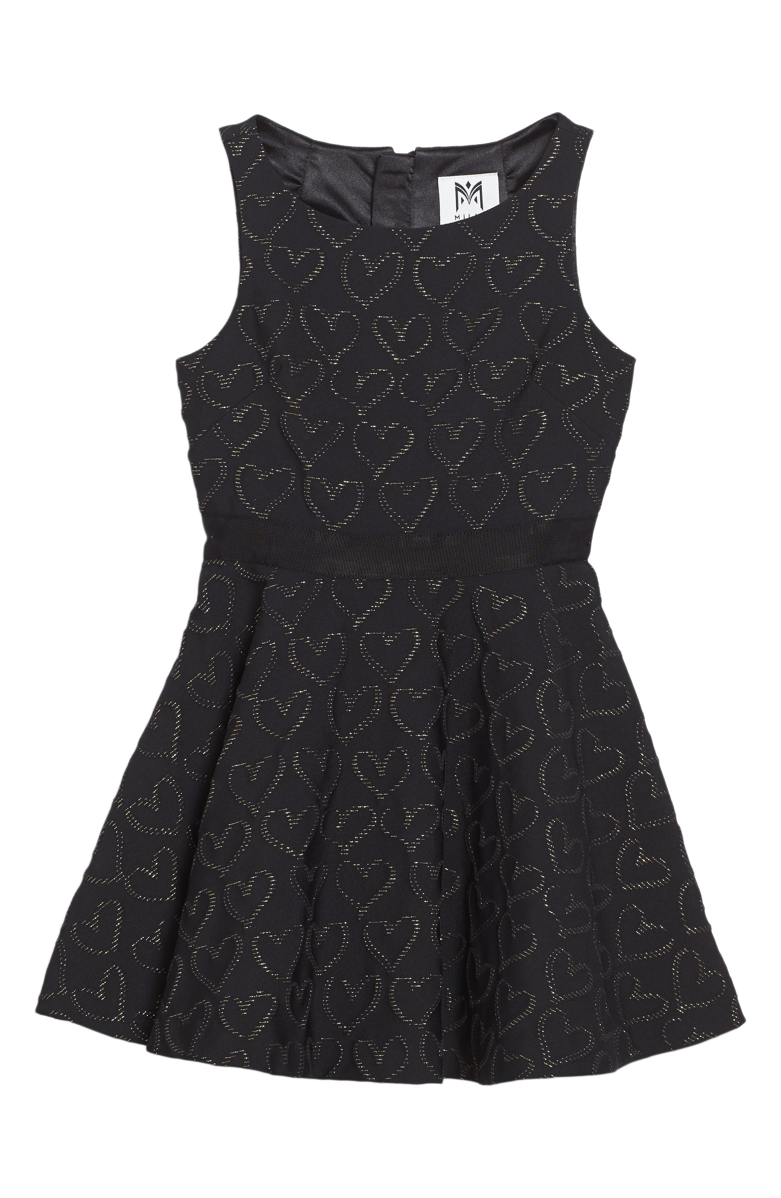 Main Image - Milly Minis Circle Dress (Big Girls)
