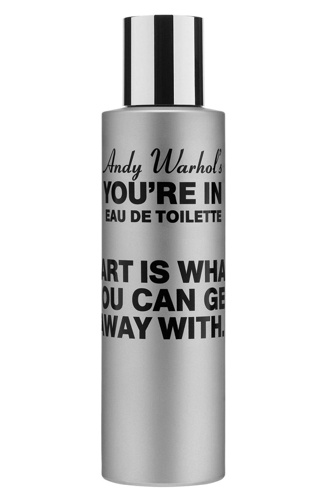 Andy Warhol You're In Unisex Eau de Toilette,                         Main,                         color, In Fifteen Minutes