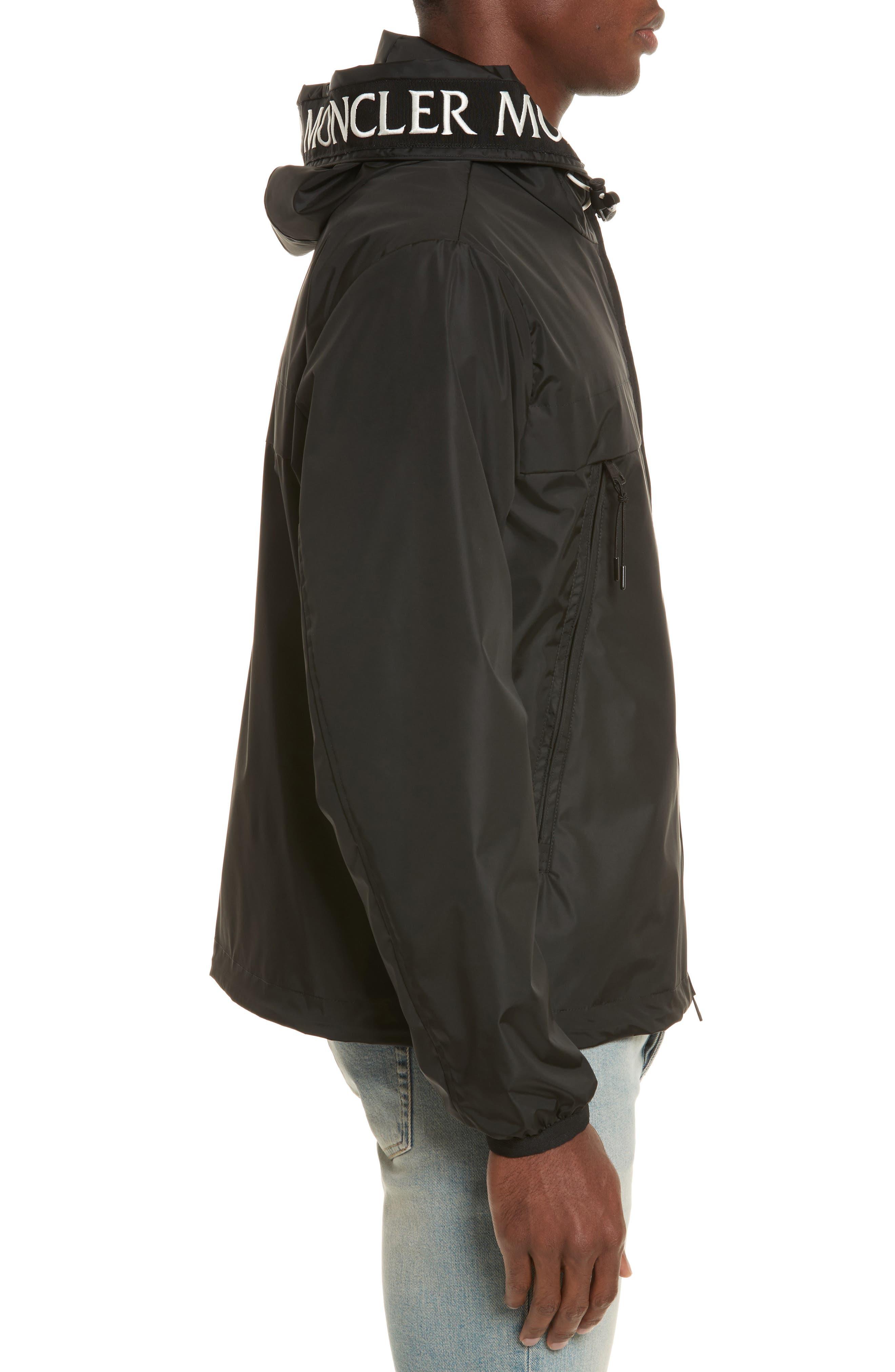 Massereau Zip Jacket,                             Alternate thumbnail 3, color,                             Black