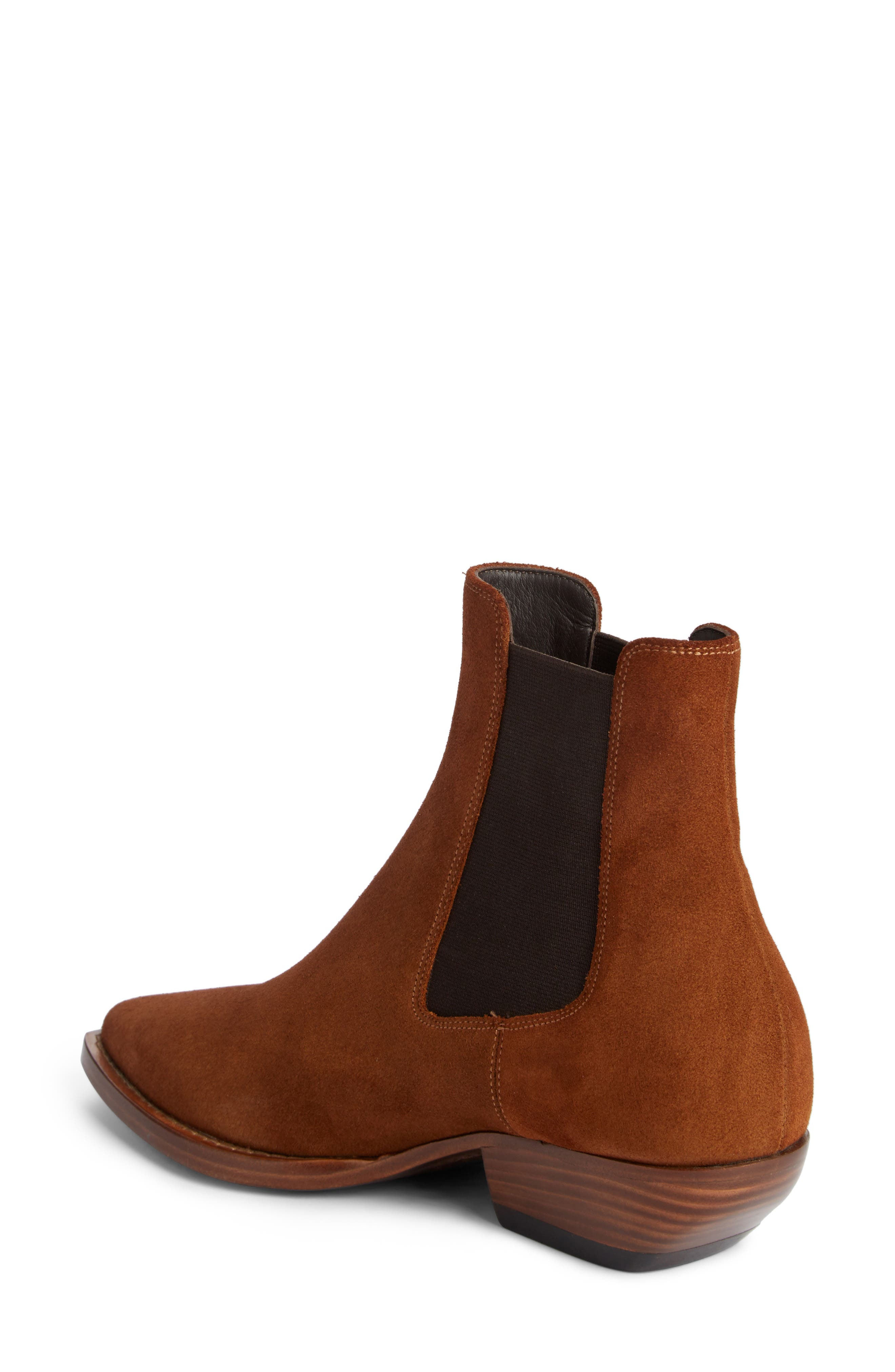 Theo Boot,                             Alternate thumbnail 2, color,                             Land Suede