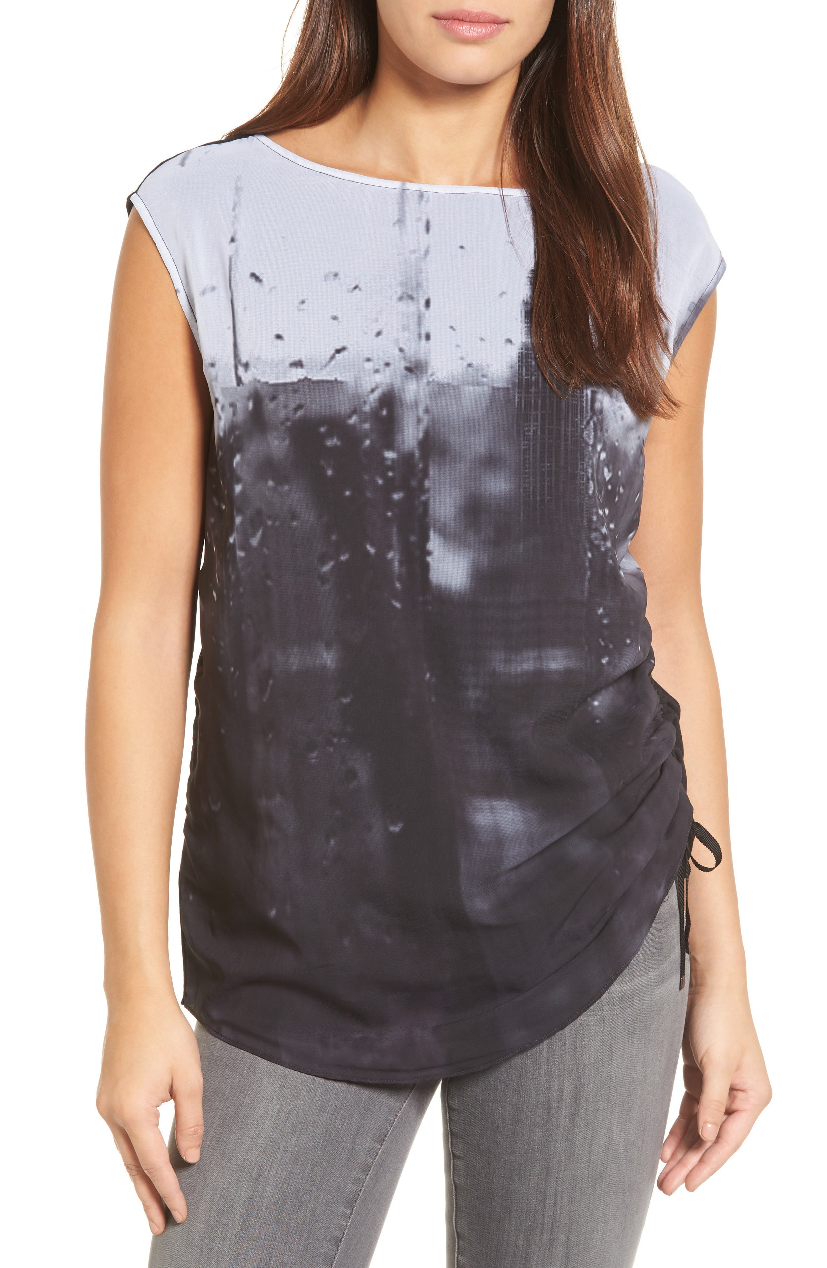 Alternate Image 1 Selected - Kenneth Cole New York Side Tie Tee
