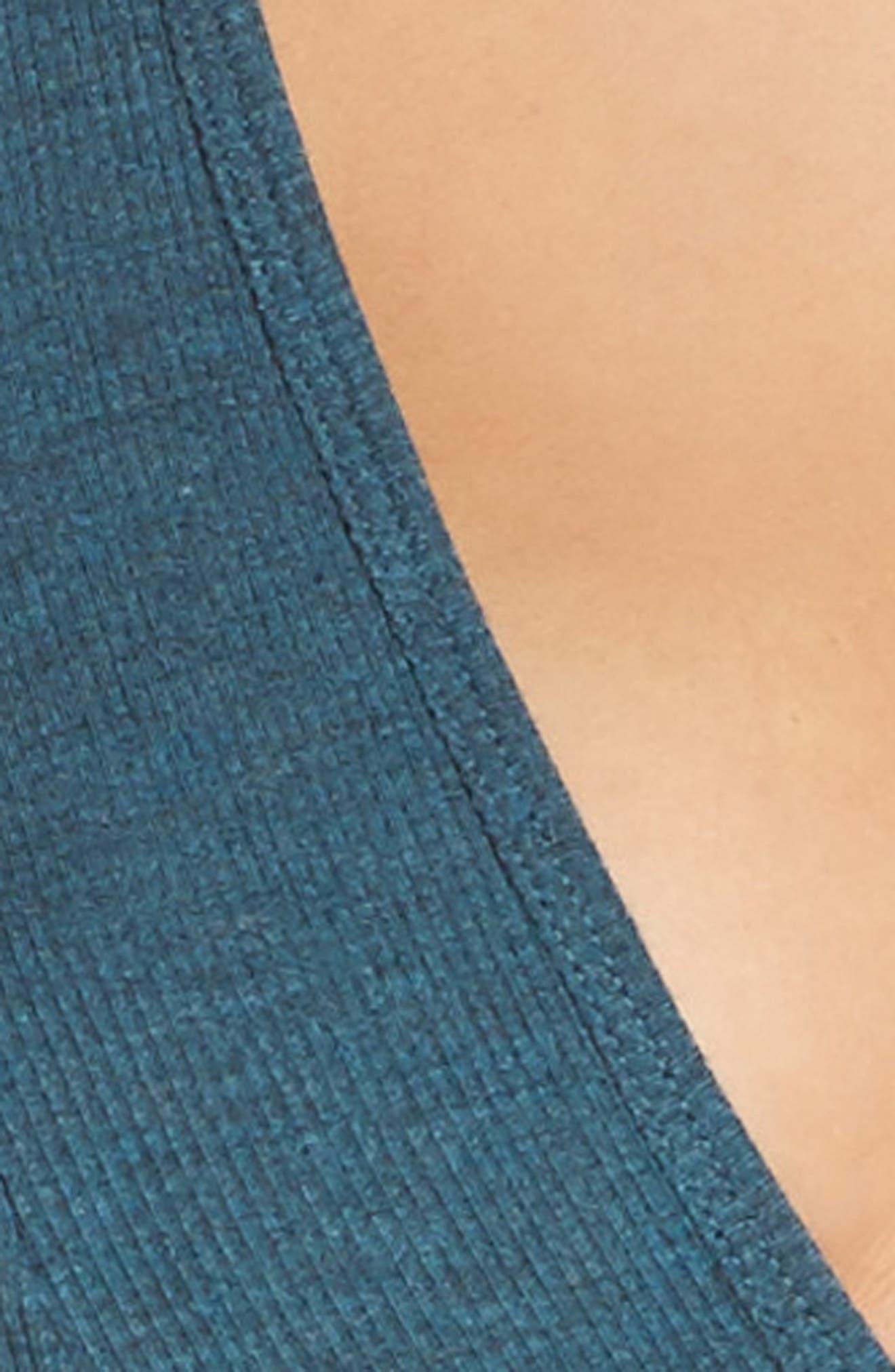 Alternate Image 4  - Honeydew Intimates Ribbed Plunge Bralette