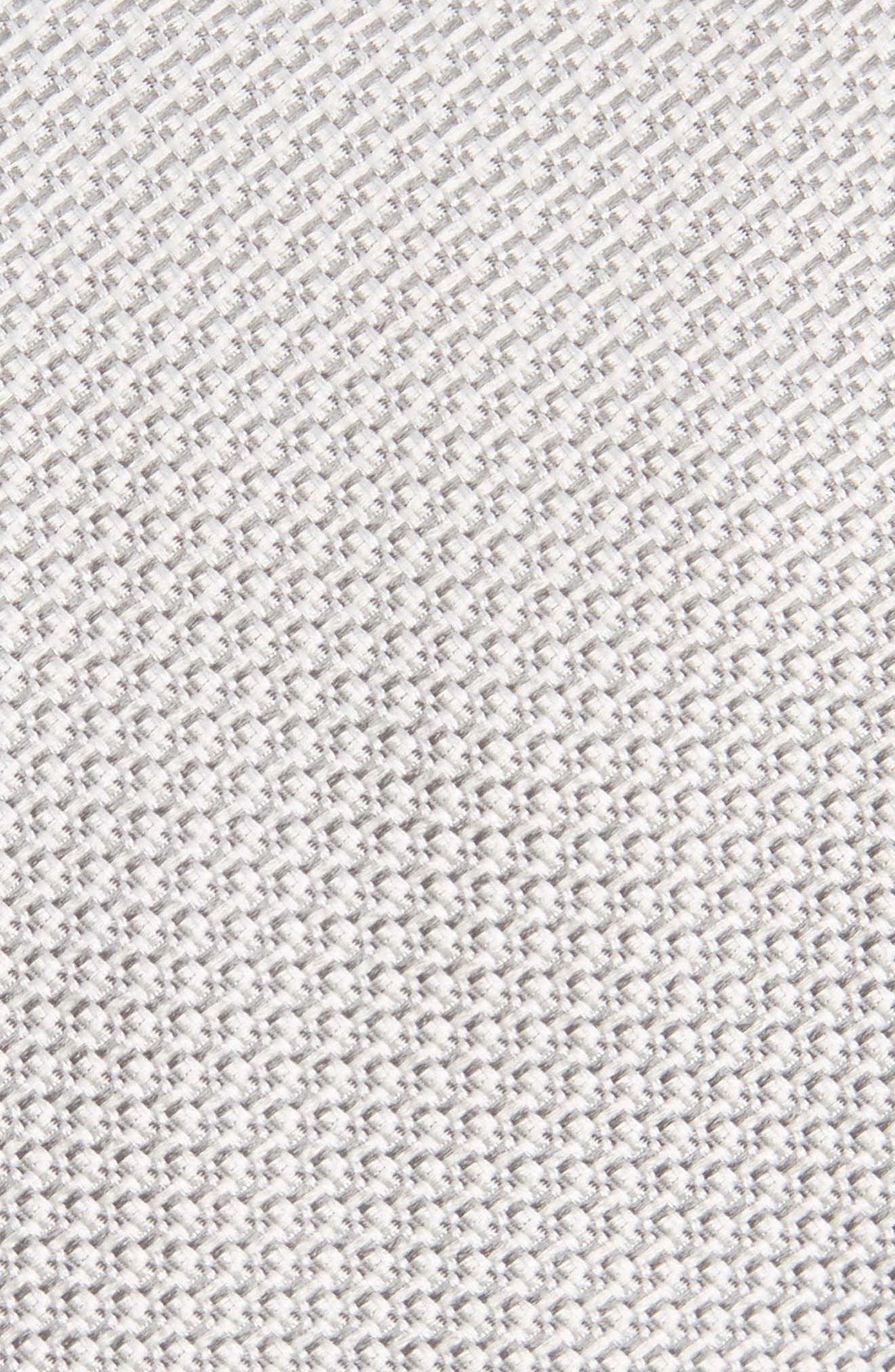 Alternate Image 2  - Canali Solid Silk Tie