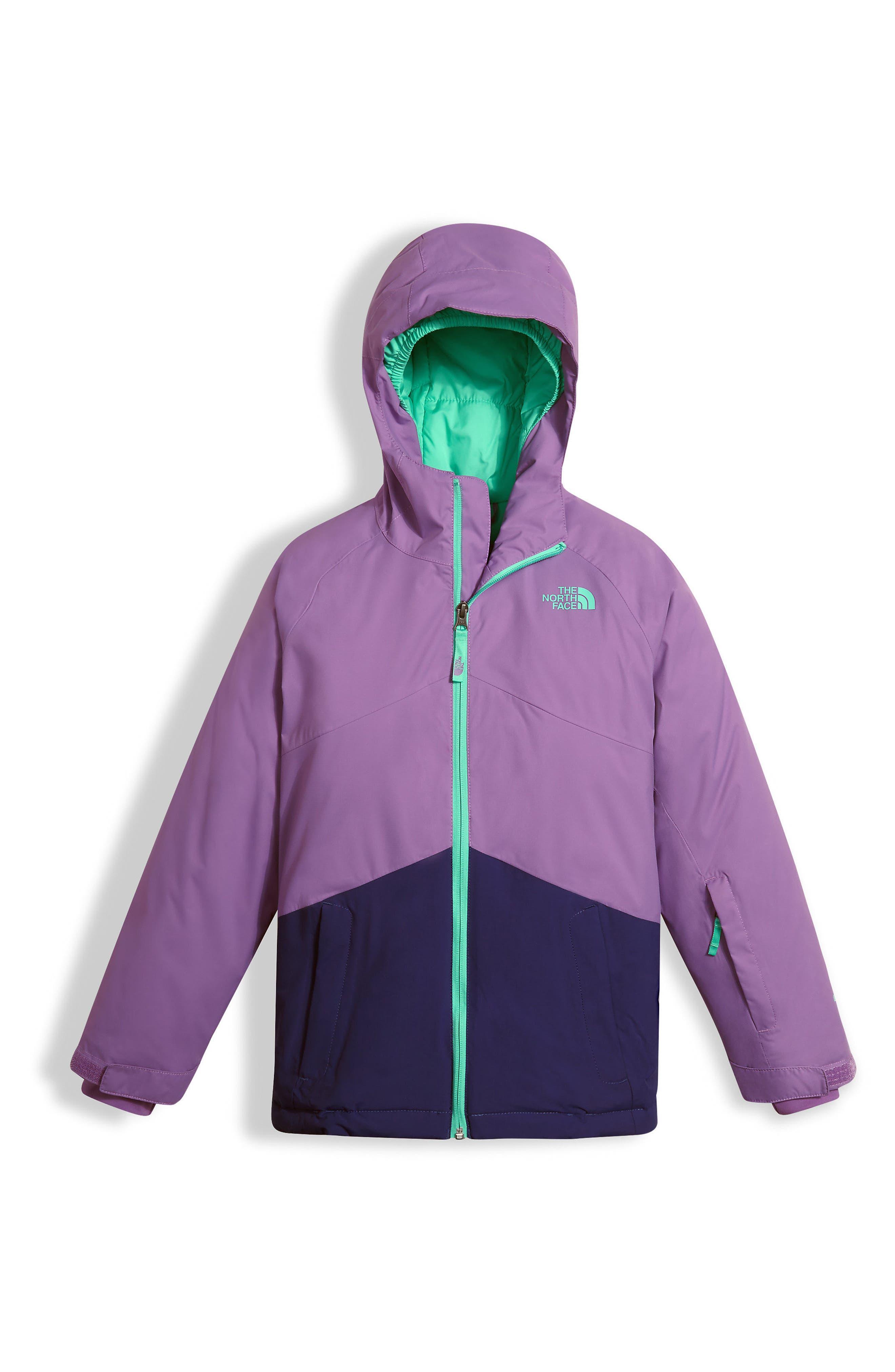 Brianna Heatseeker<sup>™</sup> Insulated Waterproof Jacket,                         Main,                         color, Bellflower Purple