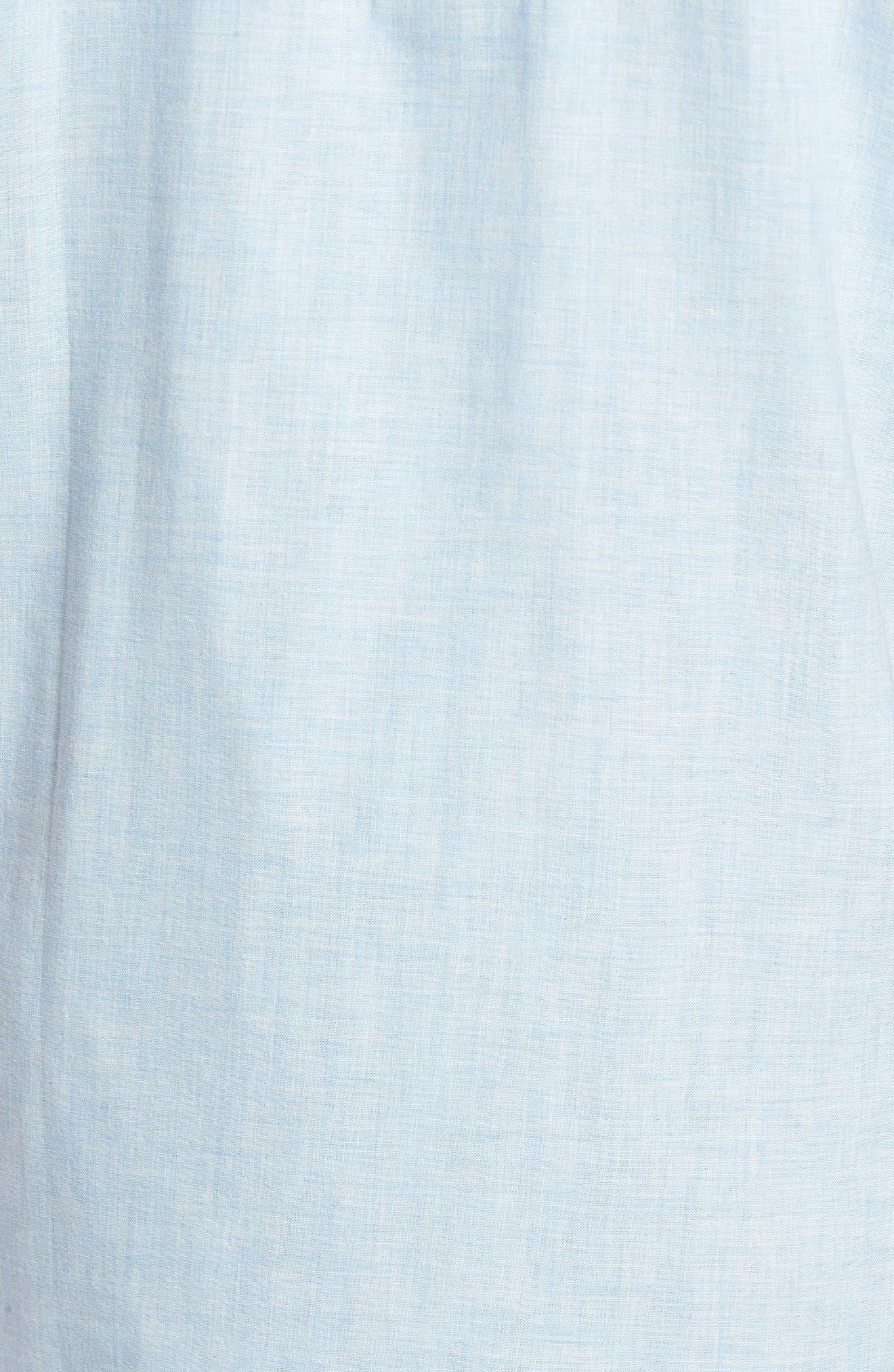 Encinitas Regular Fit Sport Shirt,                             Alternate thumbnail 5, color,                             Sky