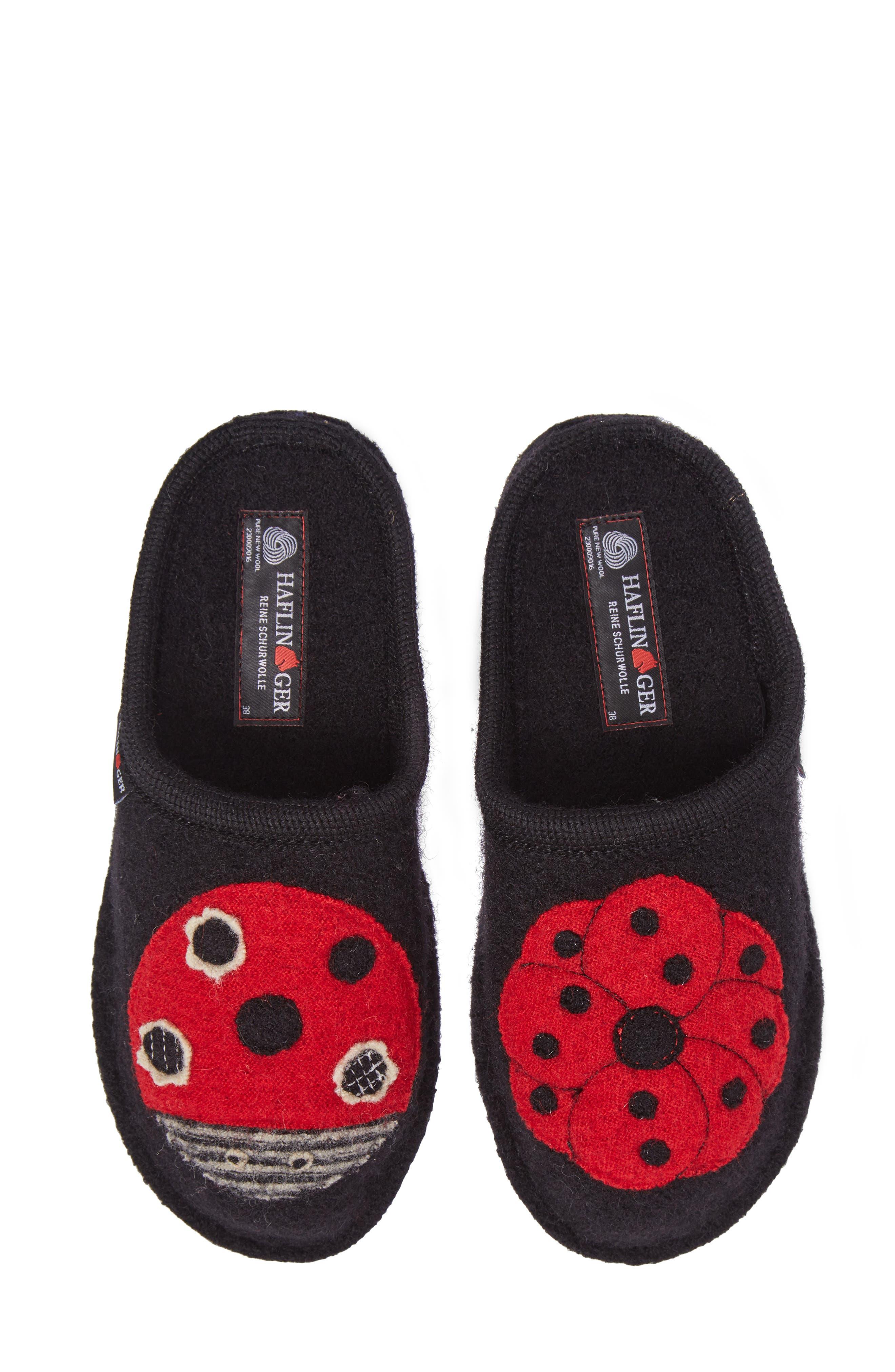 Haflinger Ladybug Slipper (Women)