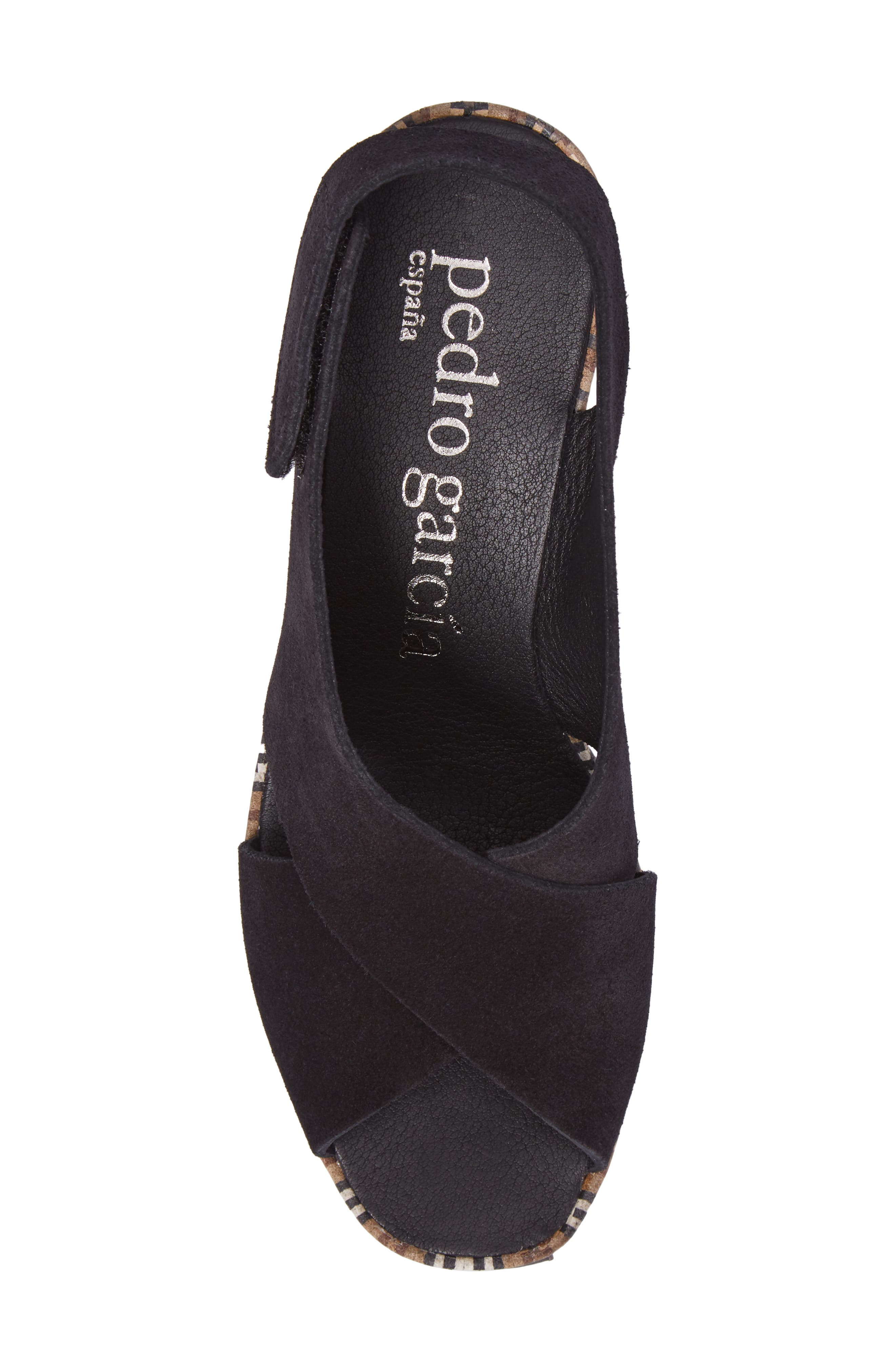Alternate Image 5  - Pedro Garcia 'Federica' Wedge Sandal (Women)
