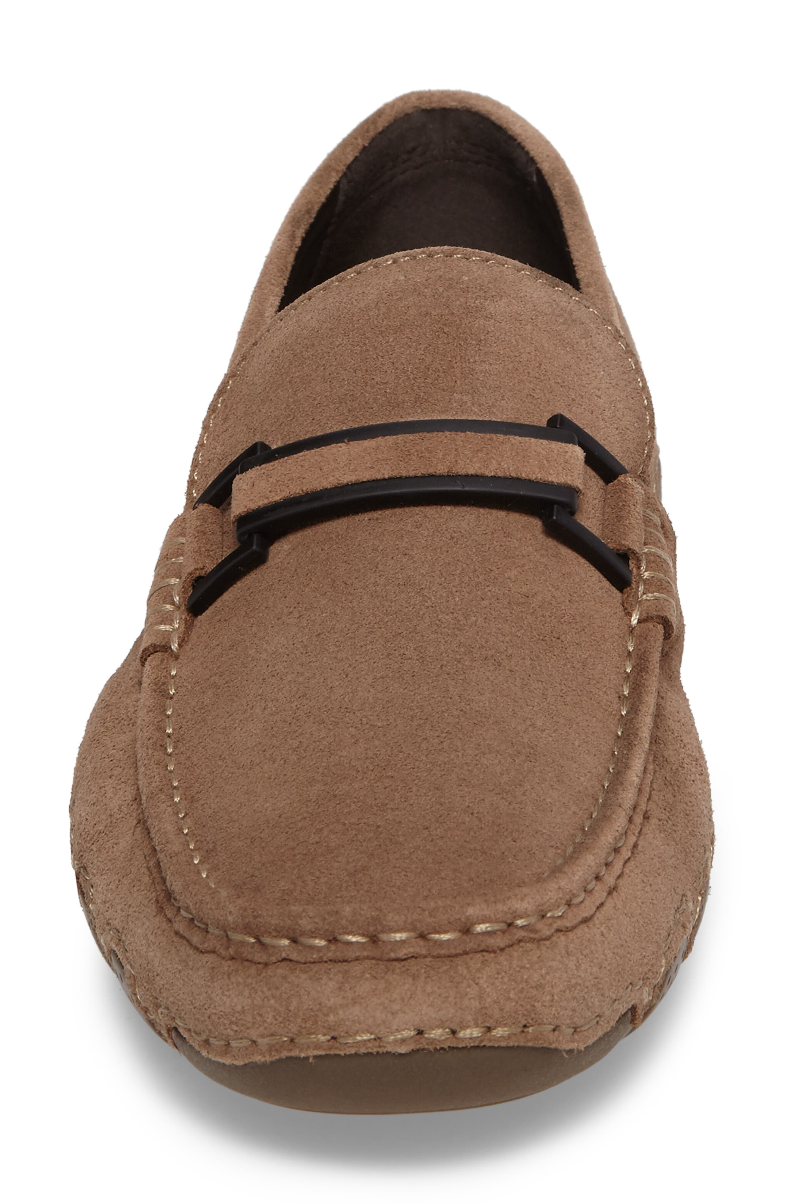 Kenneth Cole Reaction Driving Shoe,                             Alternate thumbnail 4, color,                             Taupe