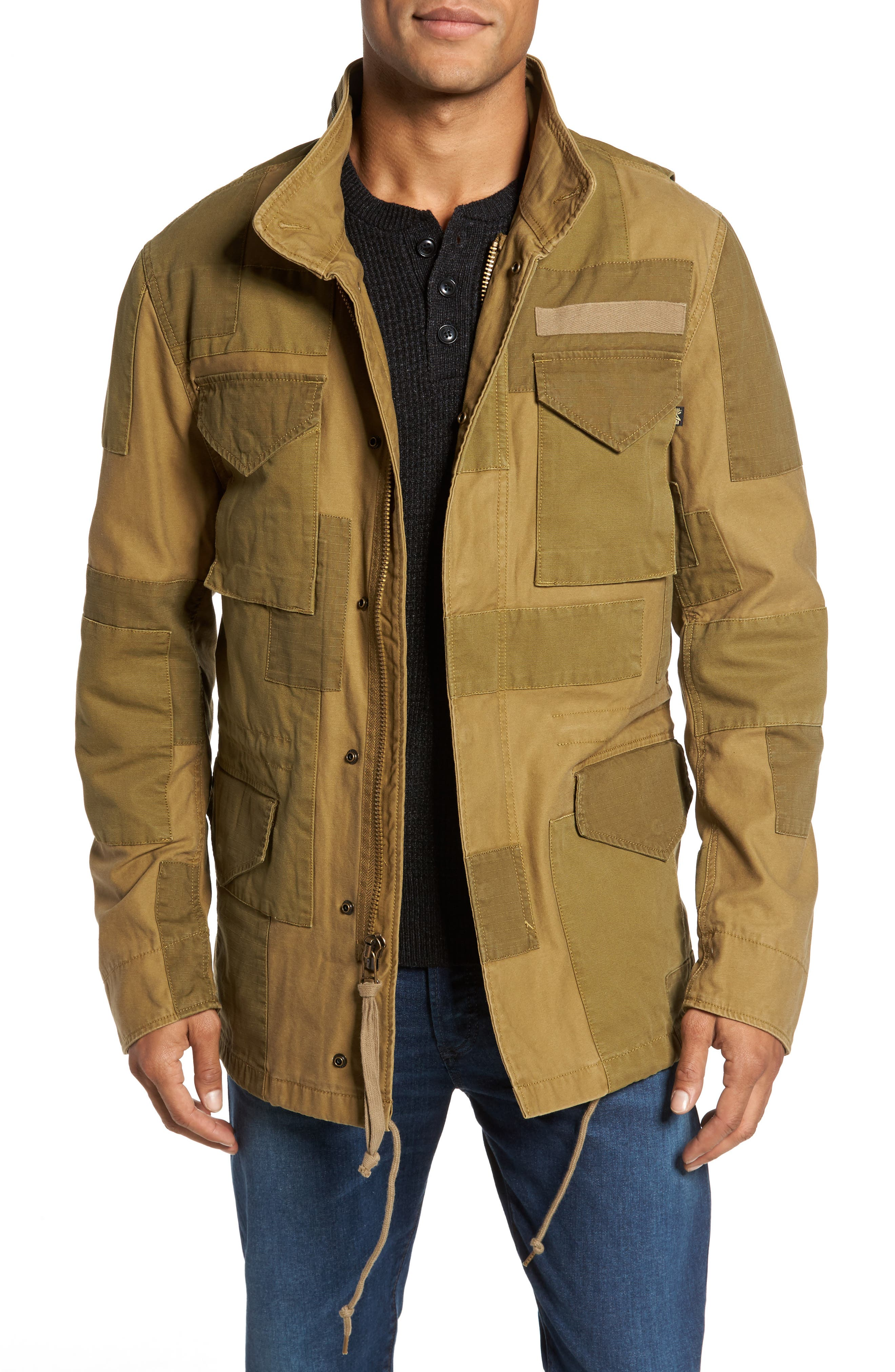 Alternate Image 1 Selected - Alpha Industries M-65 Construct Field Jacket