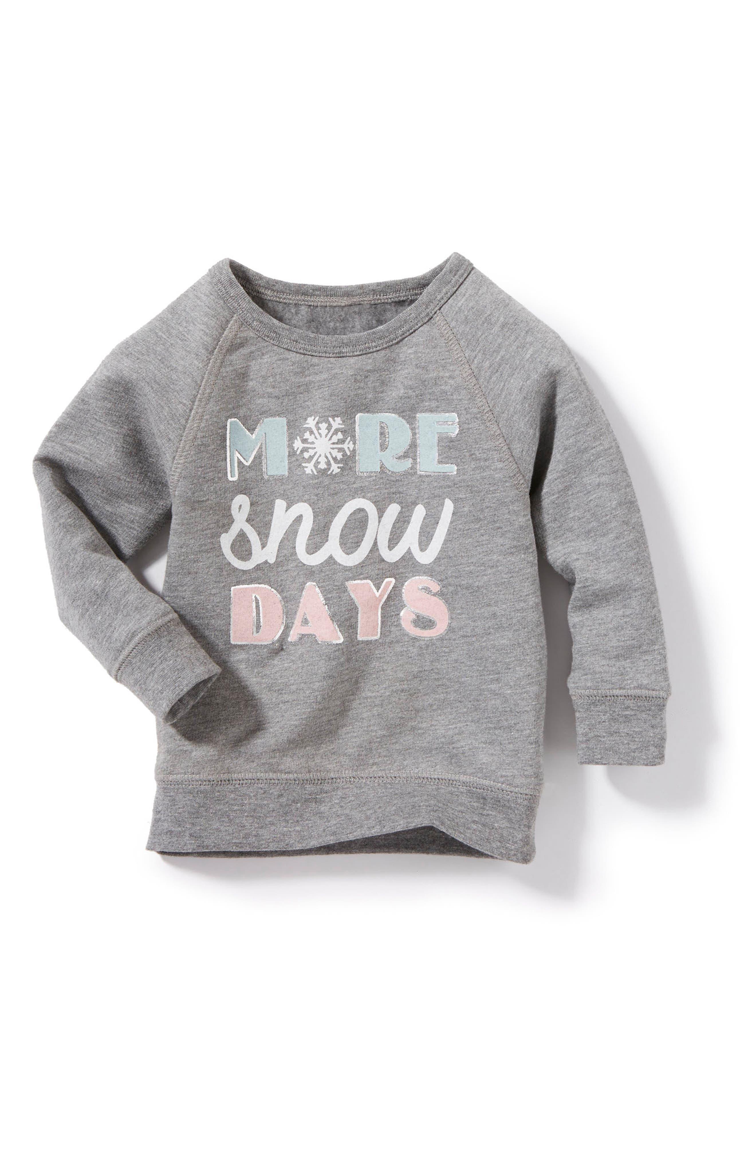Peek Snow Days Graphic Pullover (Baby Girls)