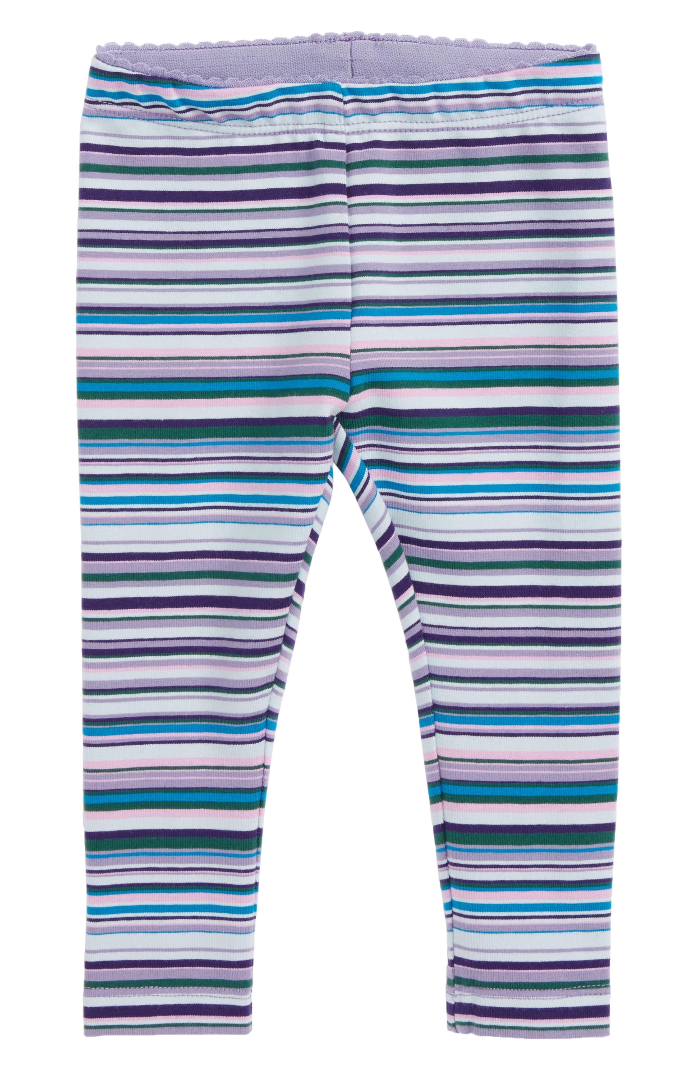 Main Image - Tea Collection Stripe Leggings (Baby Girls)