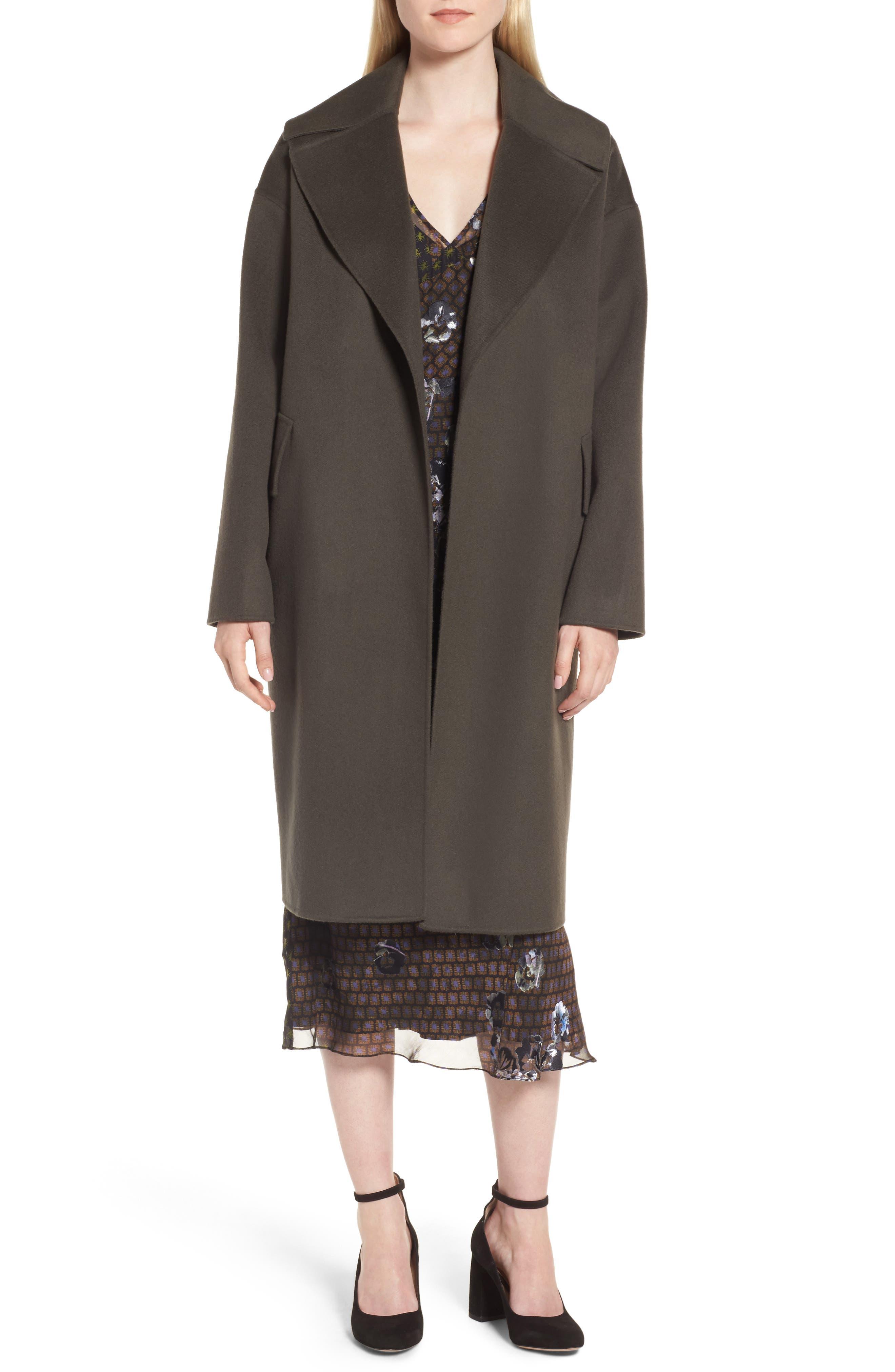 Main Image - Lewit Double-Face Wool & Cashmere Coat