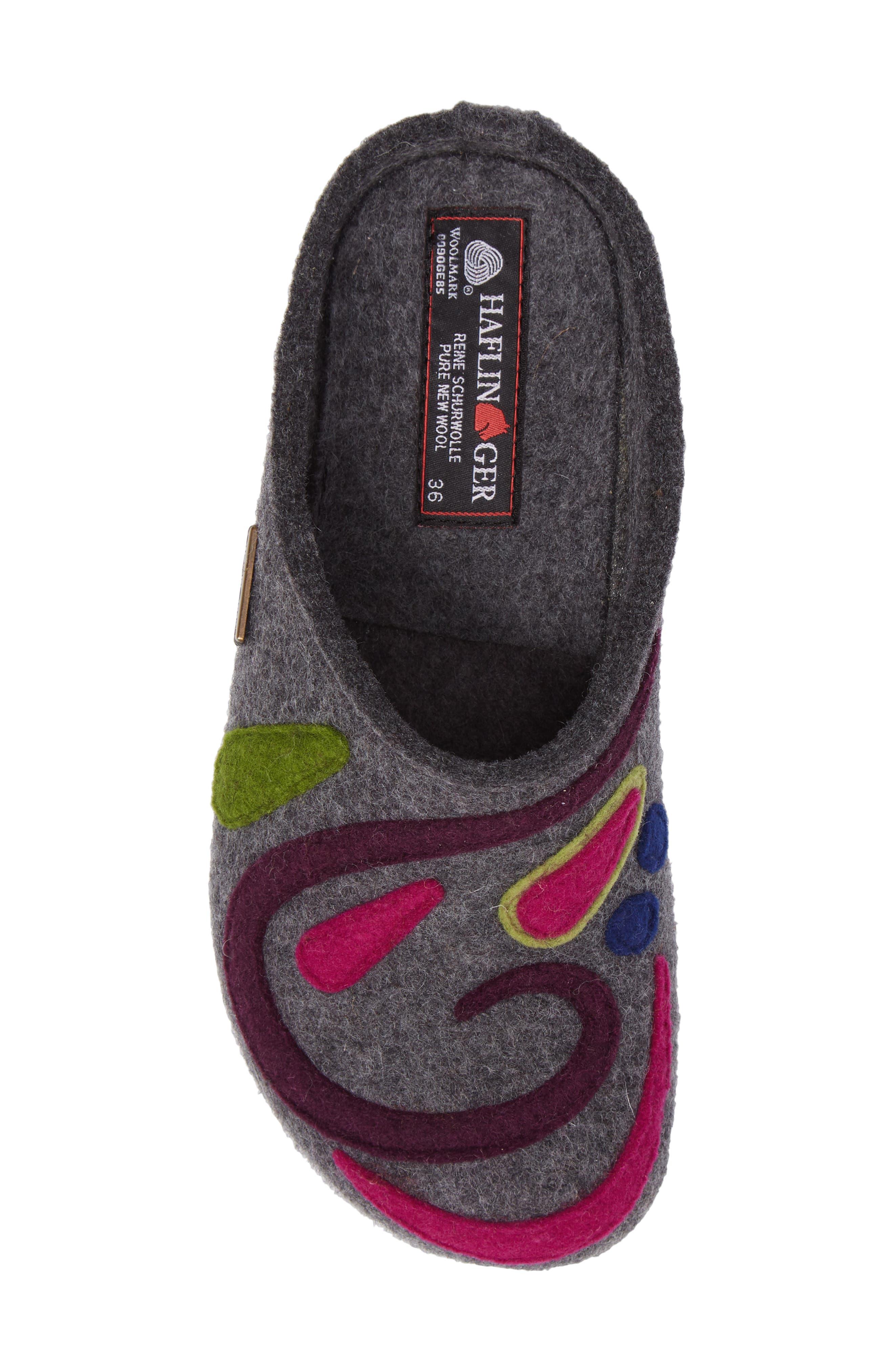 Harmony Slipper,                             Alternate thumbnail 5, color,                             Grey Wool
