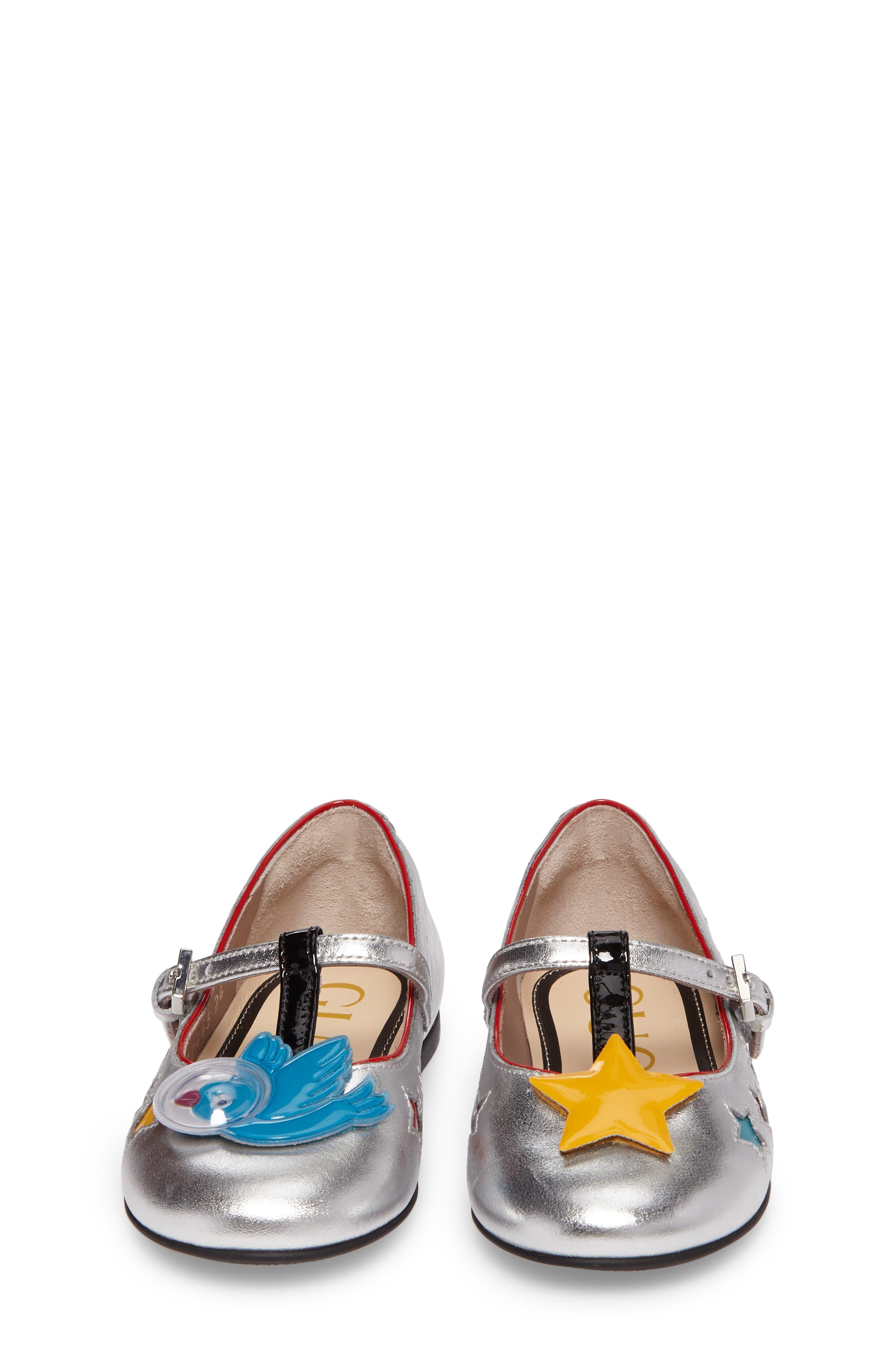 Stellar Mary Jane,                             Alternate thumbnail 5, color,                             Metallic Silver Star