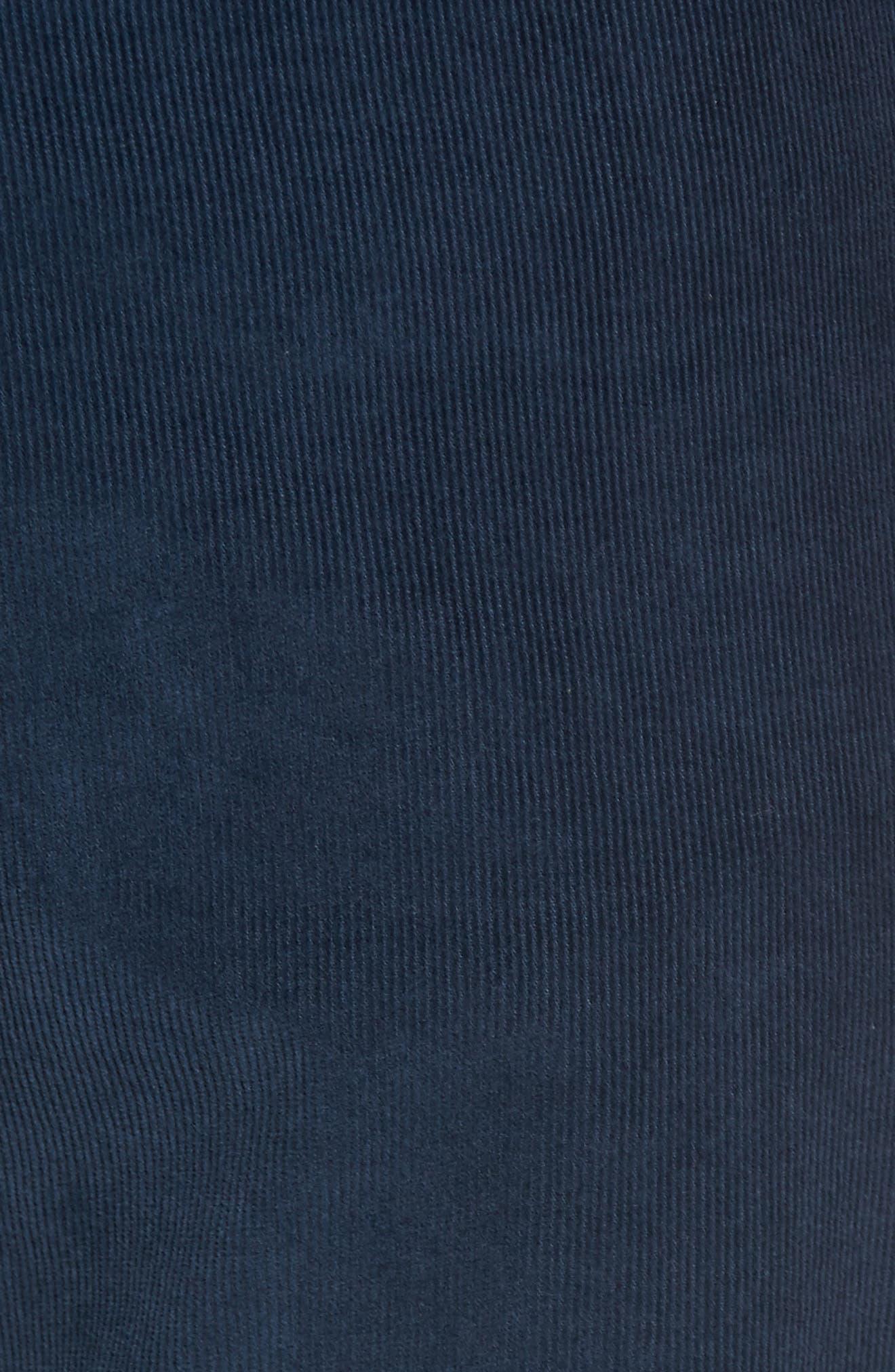 Redonda Stretch Corduroy Trousers,                             Alternate thumbnail 5, color,                             Midnight