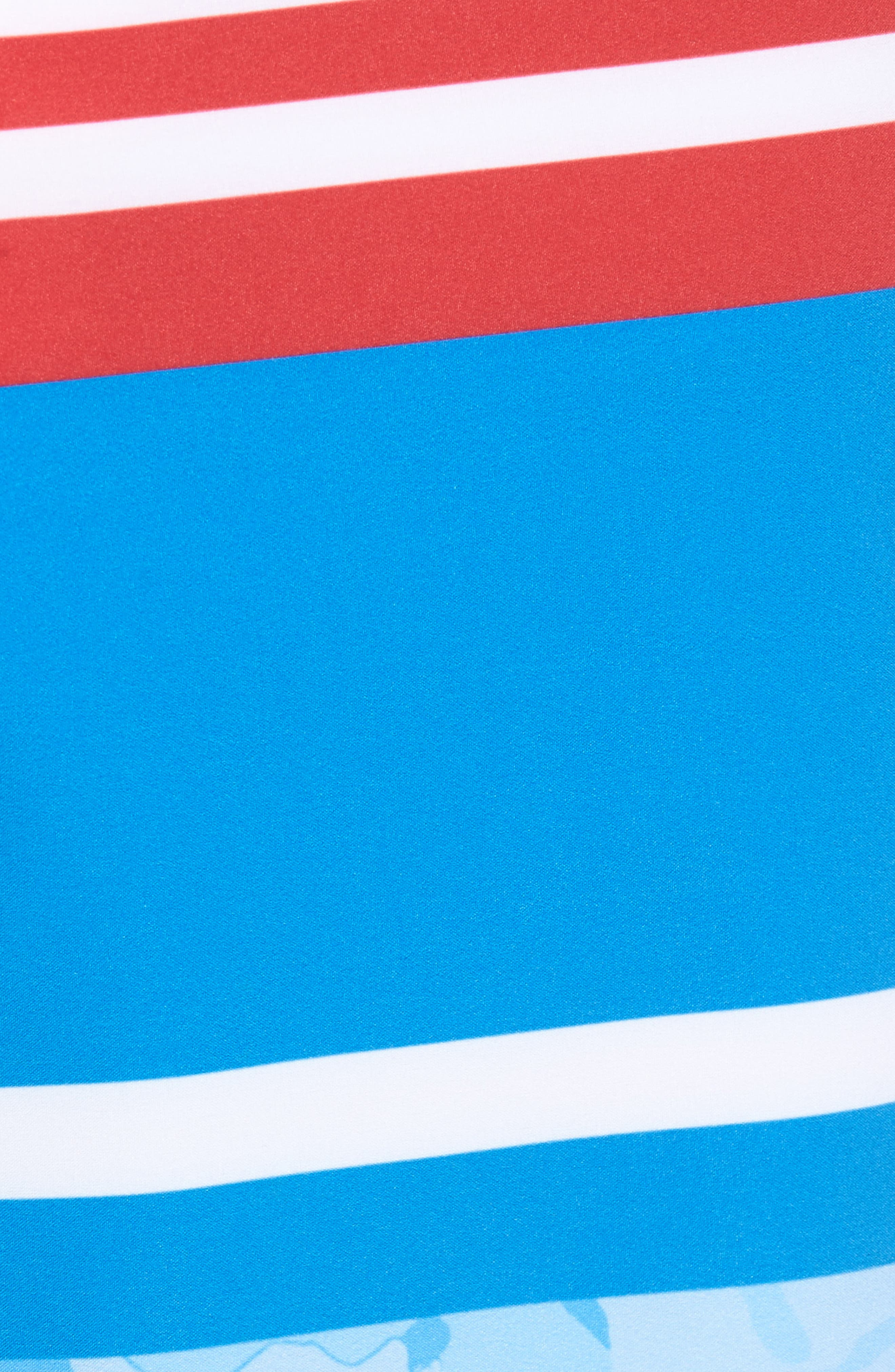 Fish Camo Stripe Board Shorts,                             Alternate thumbnail 5, color,                             Hull Blue