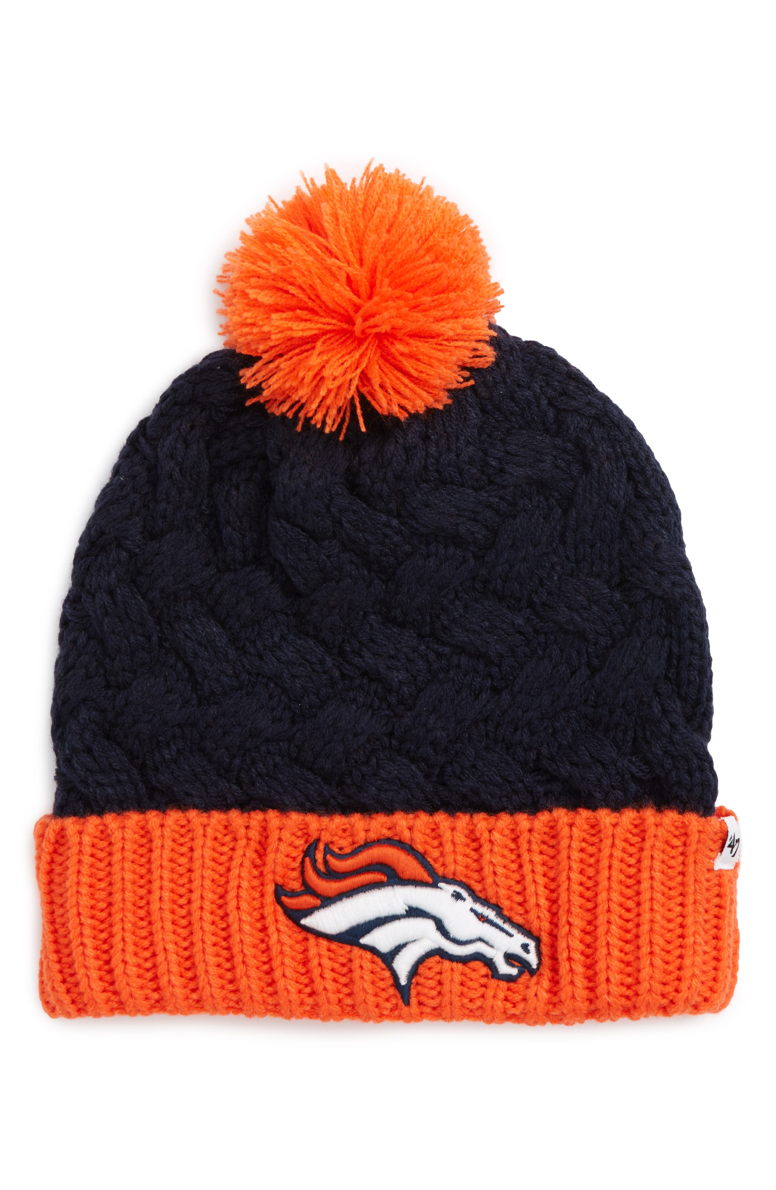 Alternate Image 1 Selected - '47 Matterhorn Denver Broncos Beanie