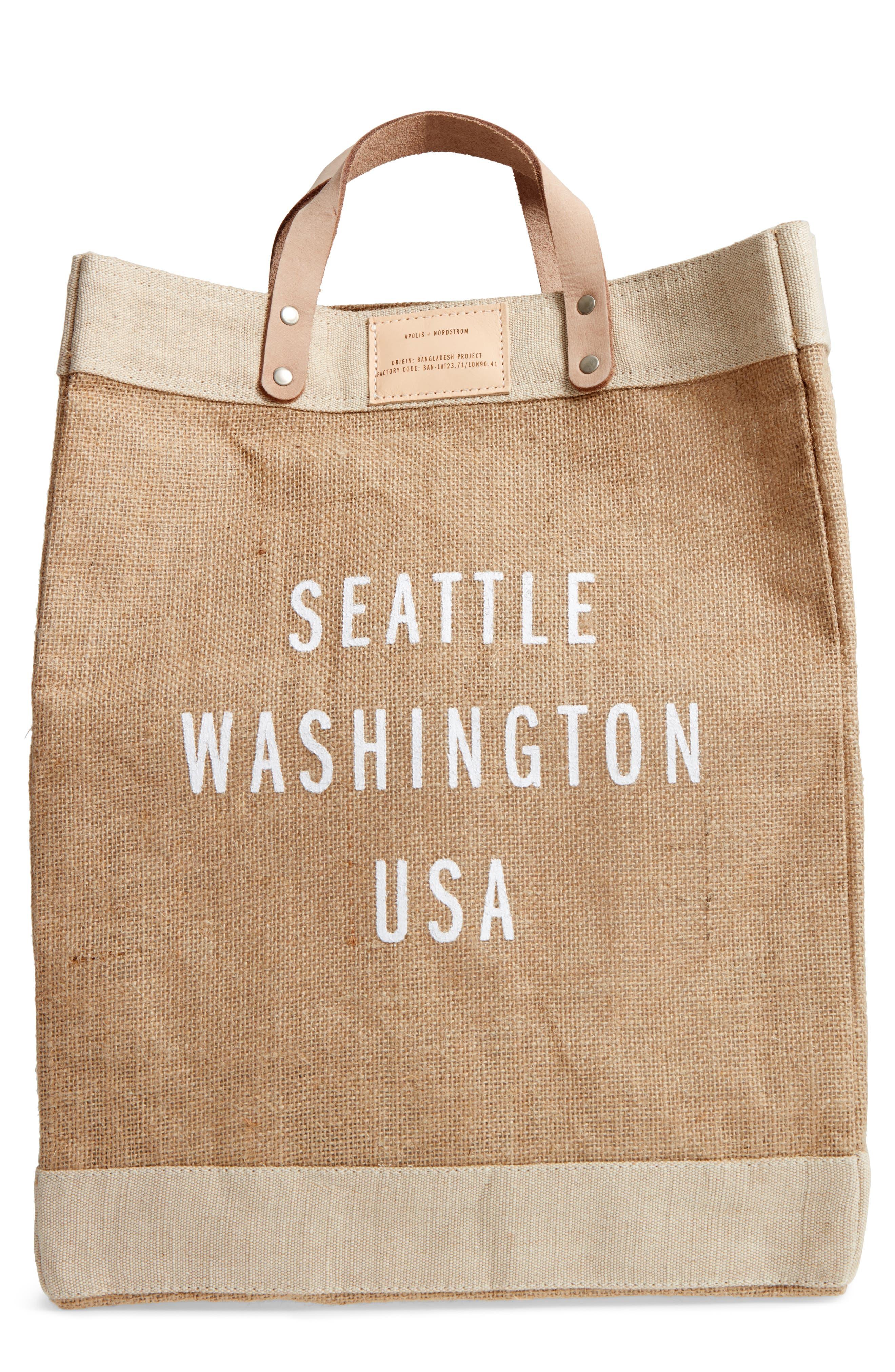 Market Bag,                             Main thumbnail 1, color,                             Seattle