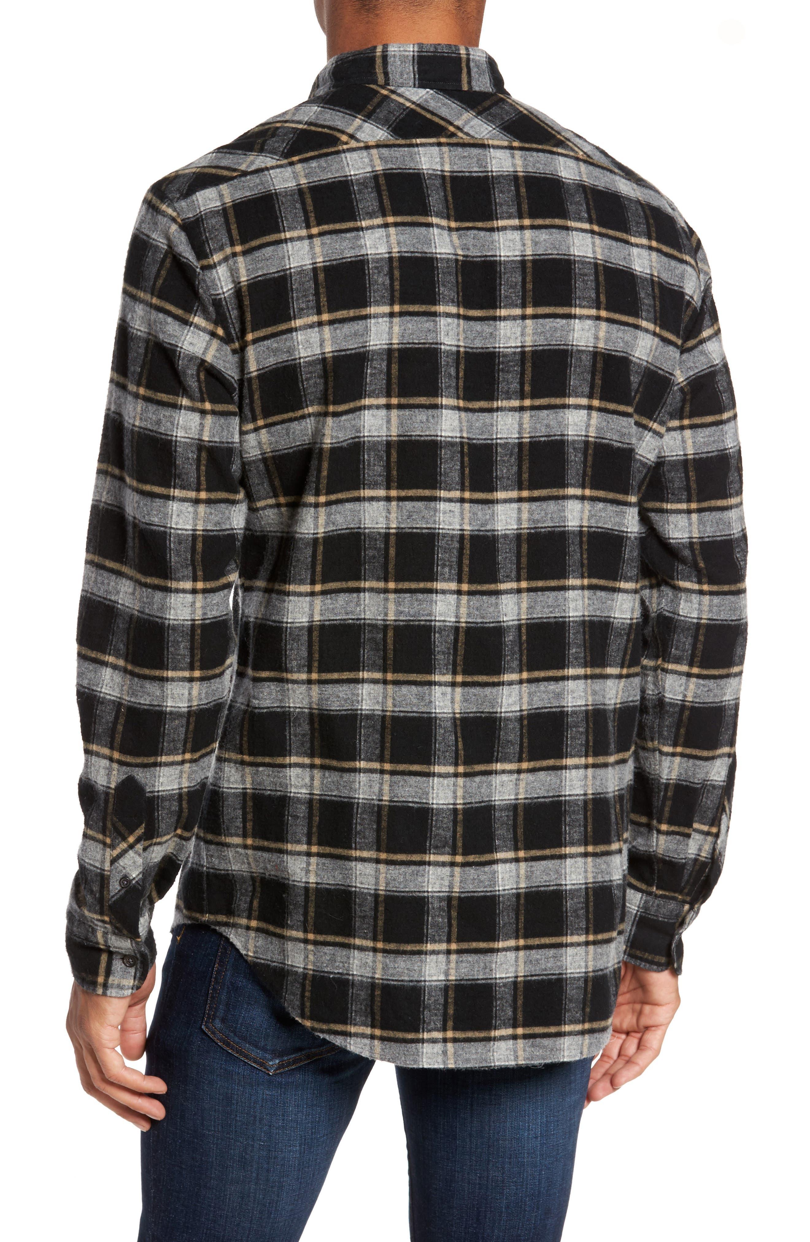 Alternate Image 2  - Billy Reid Murphy Slim Fit Check Sport Shirt