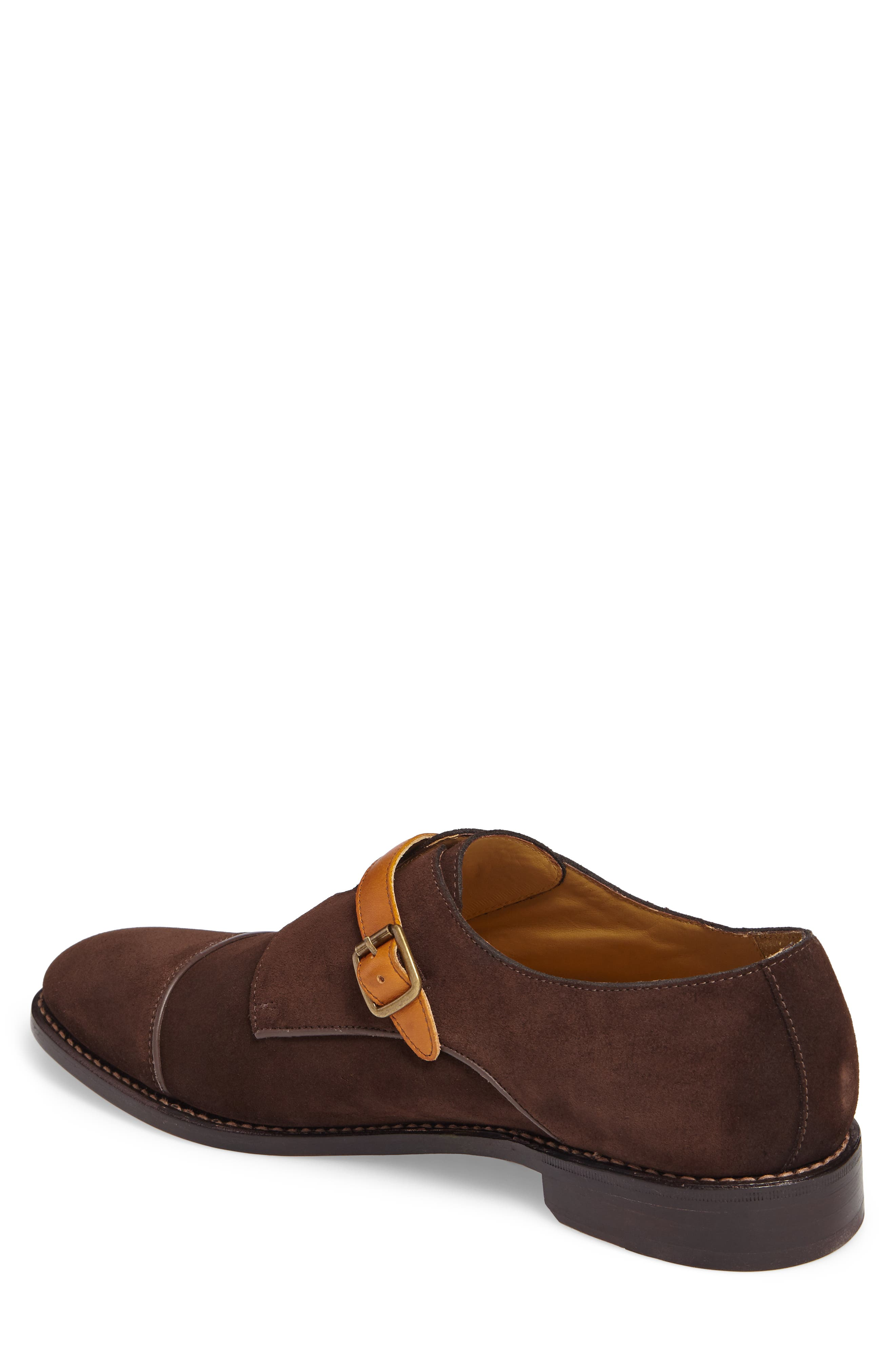 Alternate Image 2  - Michael Bastian Brando Cap Toe Monk Shoe (Men)