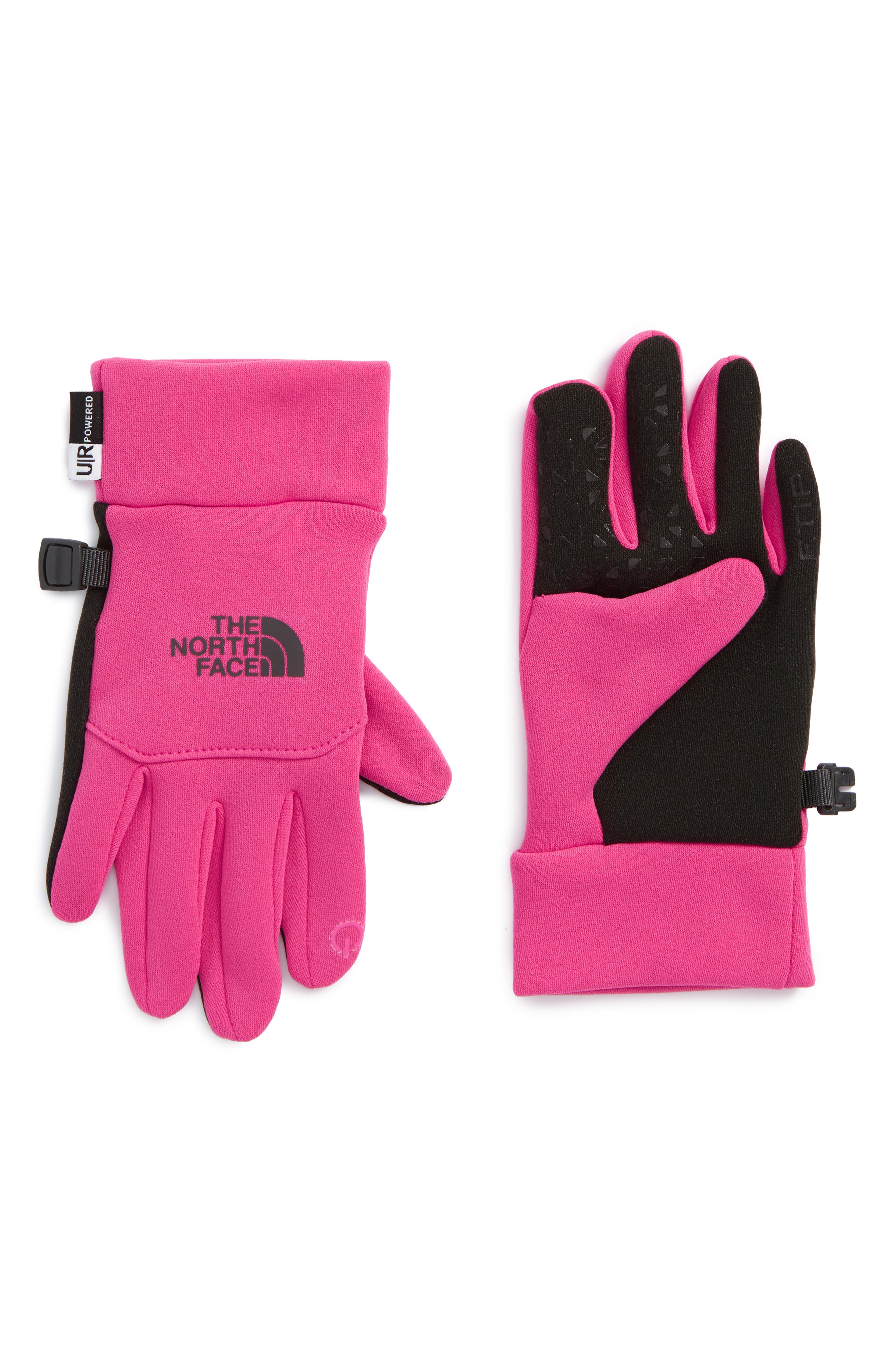E-Tip Gloves,                         Main,                         color, Petticoat Pink