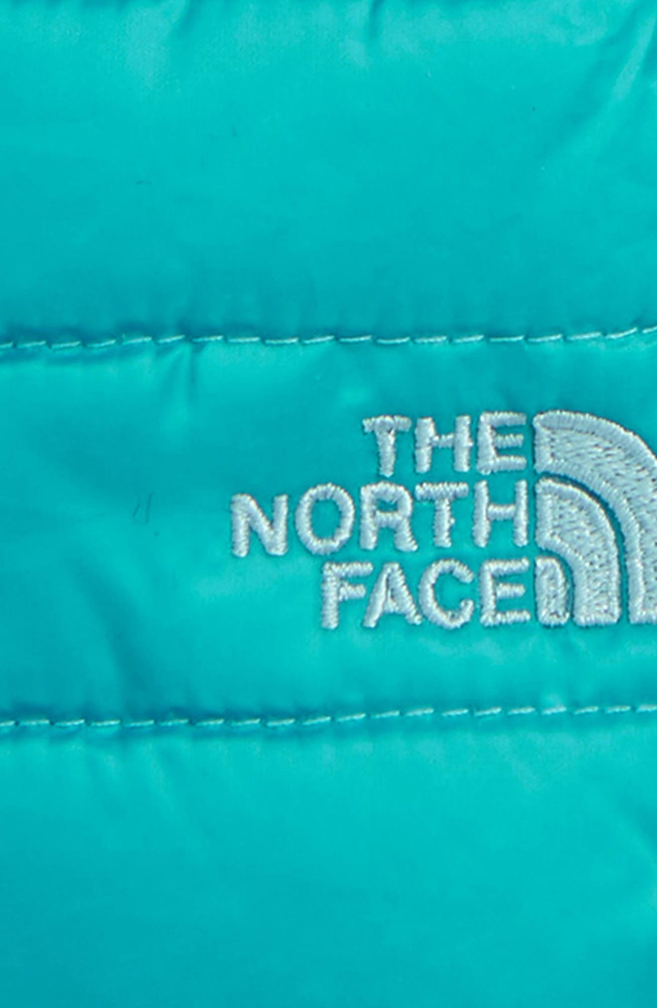 Alternate Image 3  - The North Face Mossbud Swirl Reversible Water Repellent Mittens (Girls)