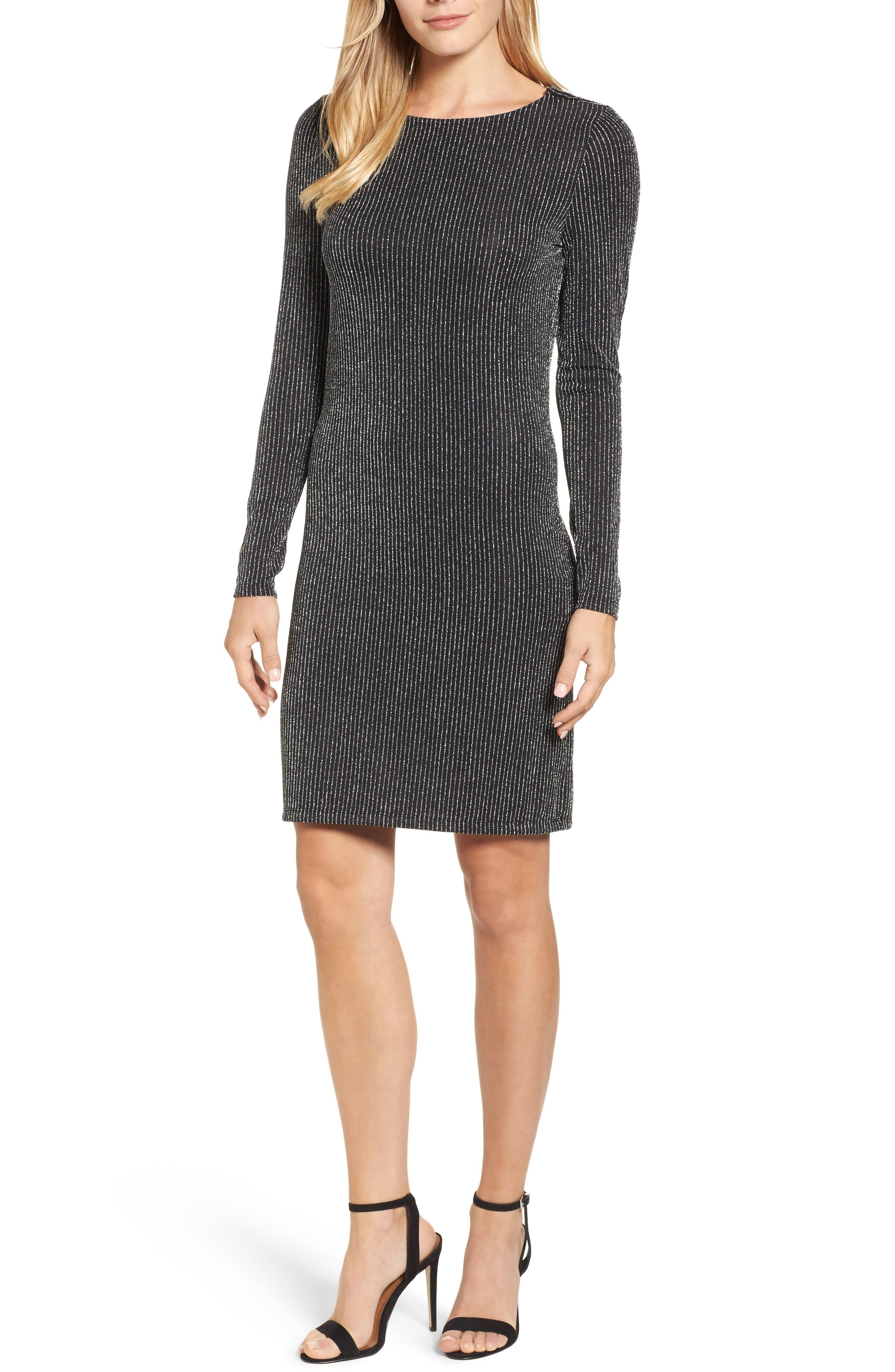 Main Image - MICHAEL Michael Kors Cowl Back Dress