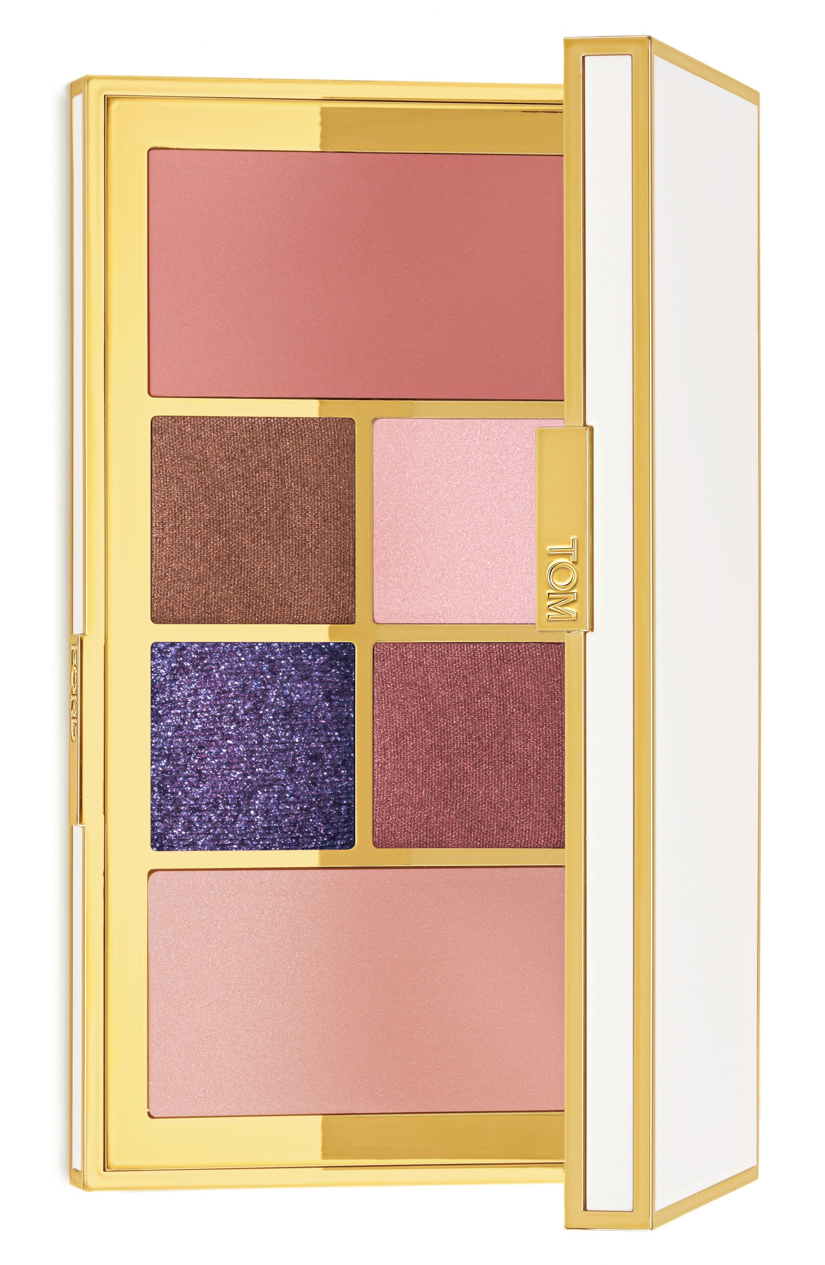 Soleil Eye and Cheek Palette,                         Main,                         color, Violet Argent