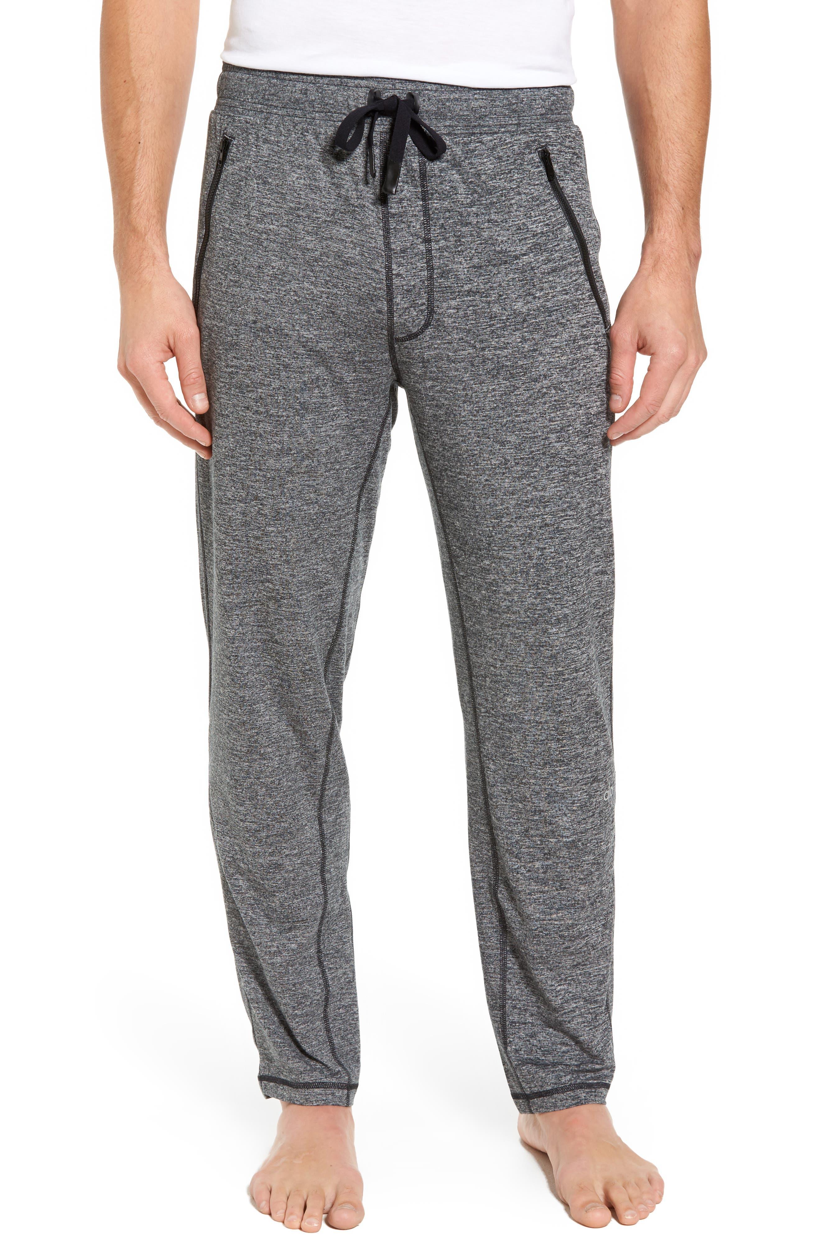 Renew Relaxed Lounge Pants,                             Main thumbnail 1, color,                             Grey Marl