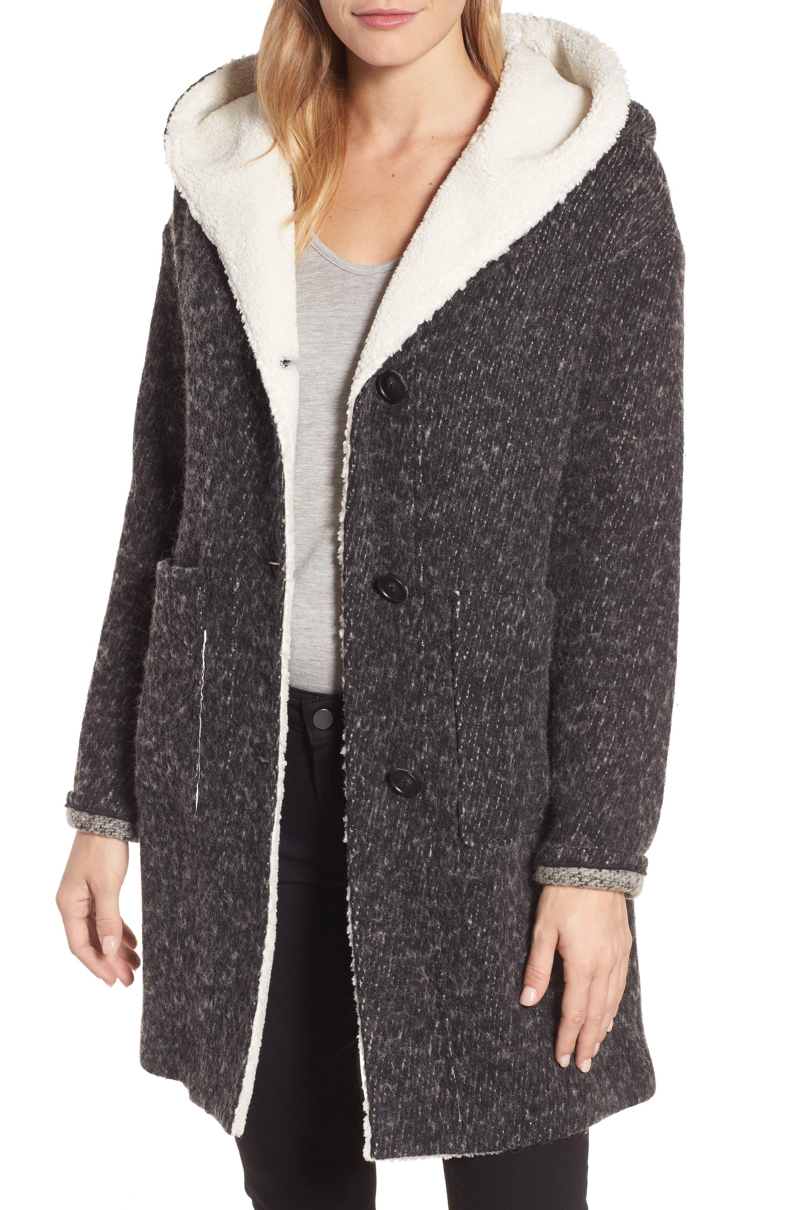 Lucky Brand Hooded Coat