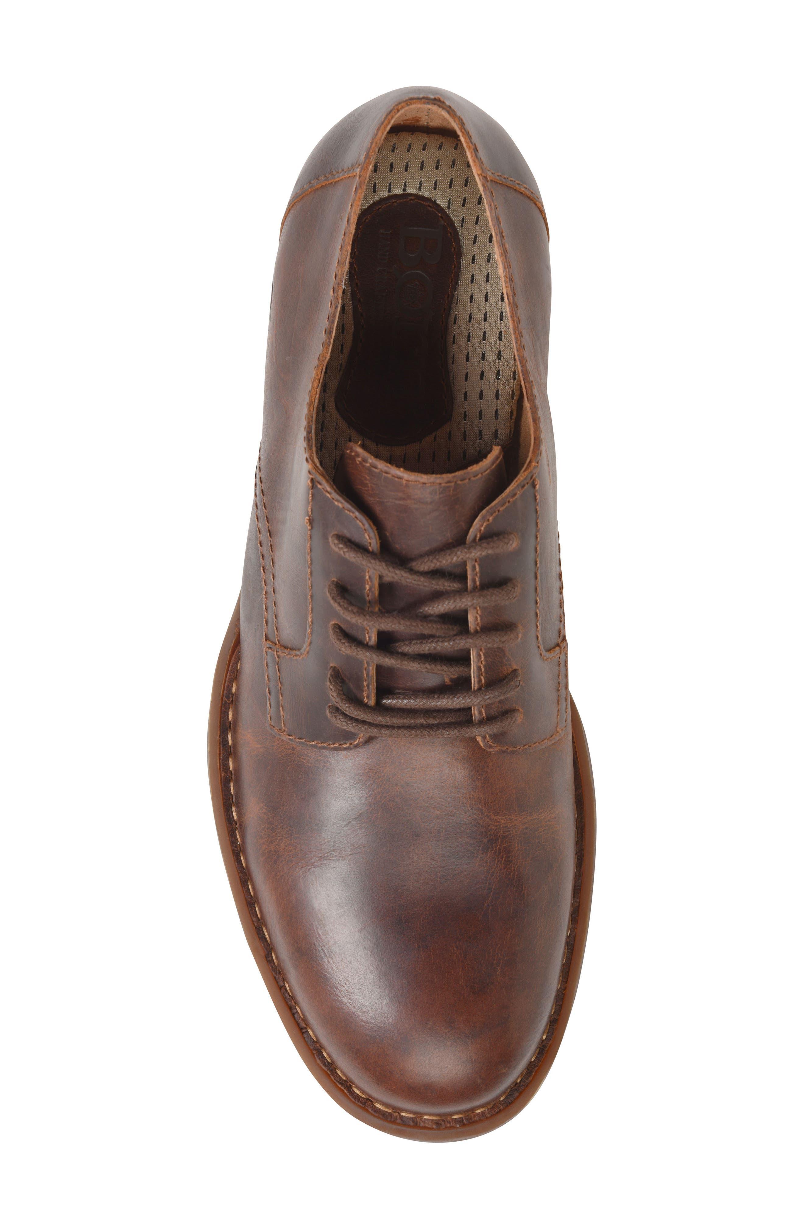 Alternate Image 5  - Børn Decker Plain Toe Derby (Men)