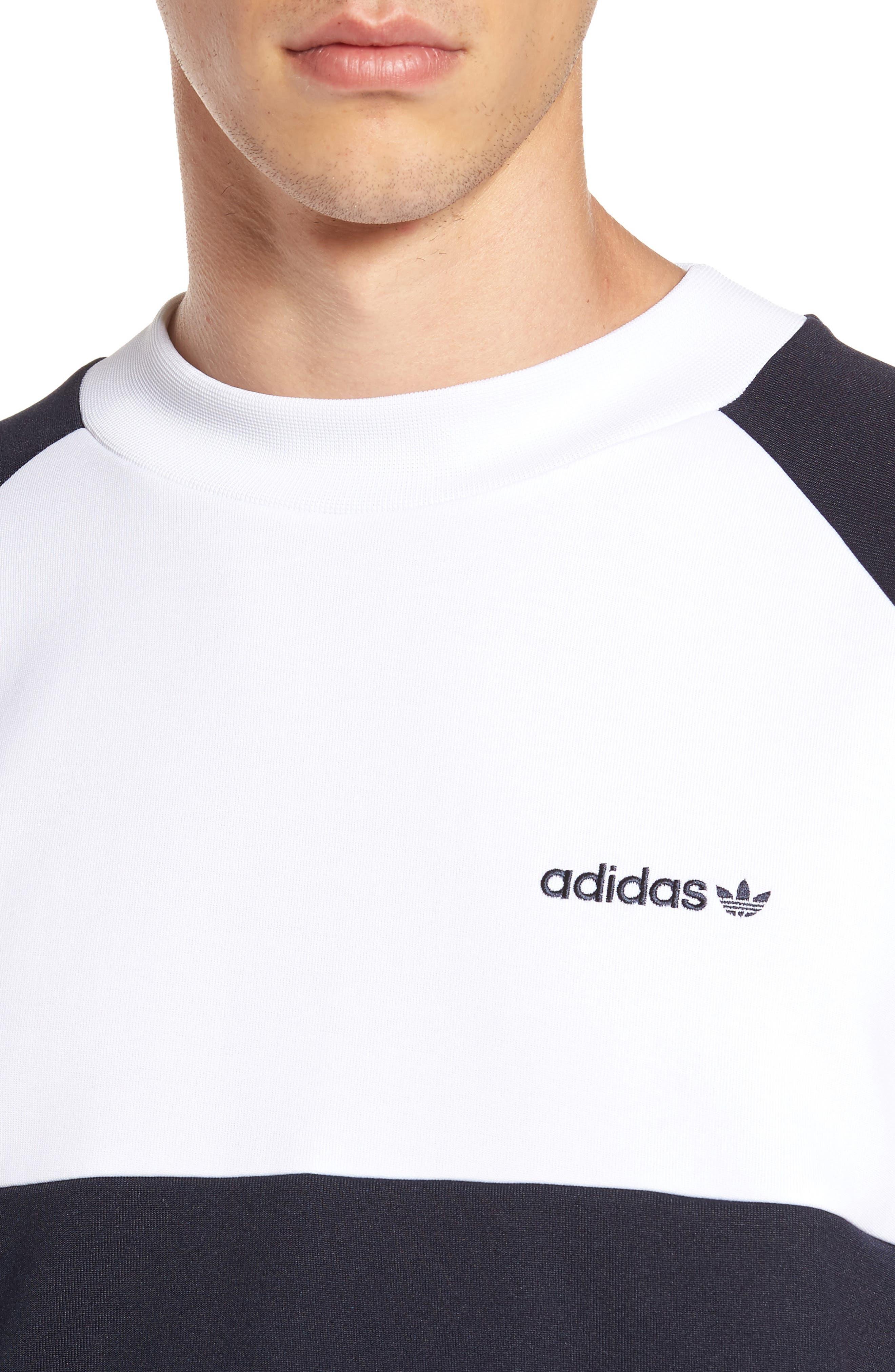 Originals Chop Shop T-Shirt,                             Alternate thumbnail 4, color,                             Legend Ink/ White