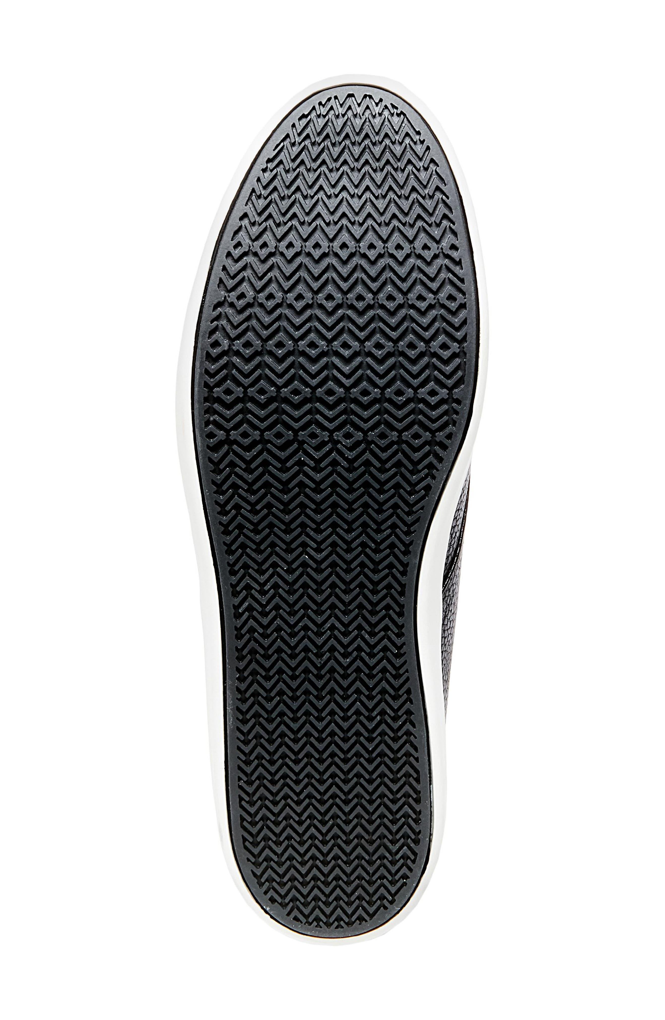 Fenway Sneaker,                             Alternate thumbnail 5, color,                             Black Leather