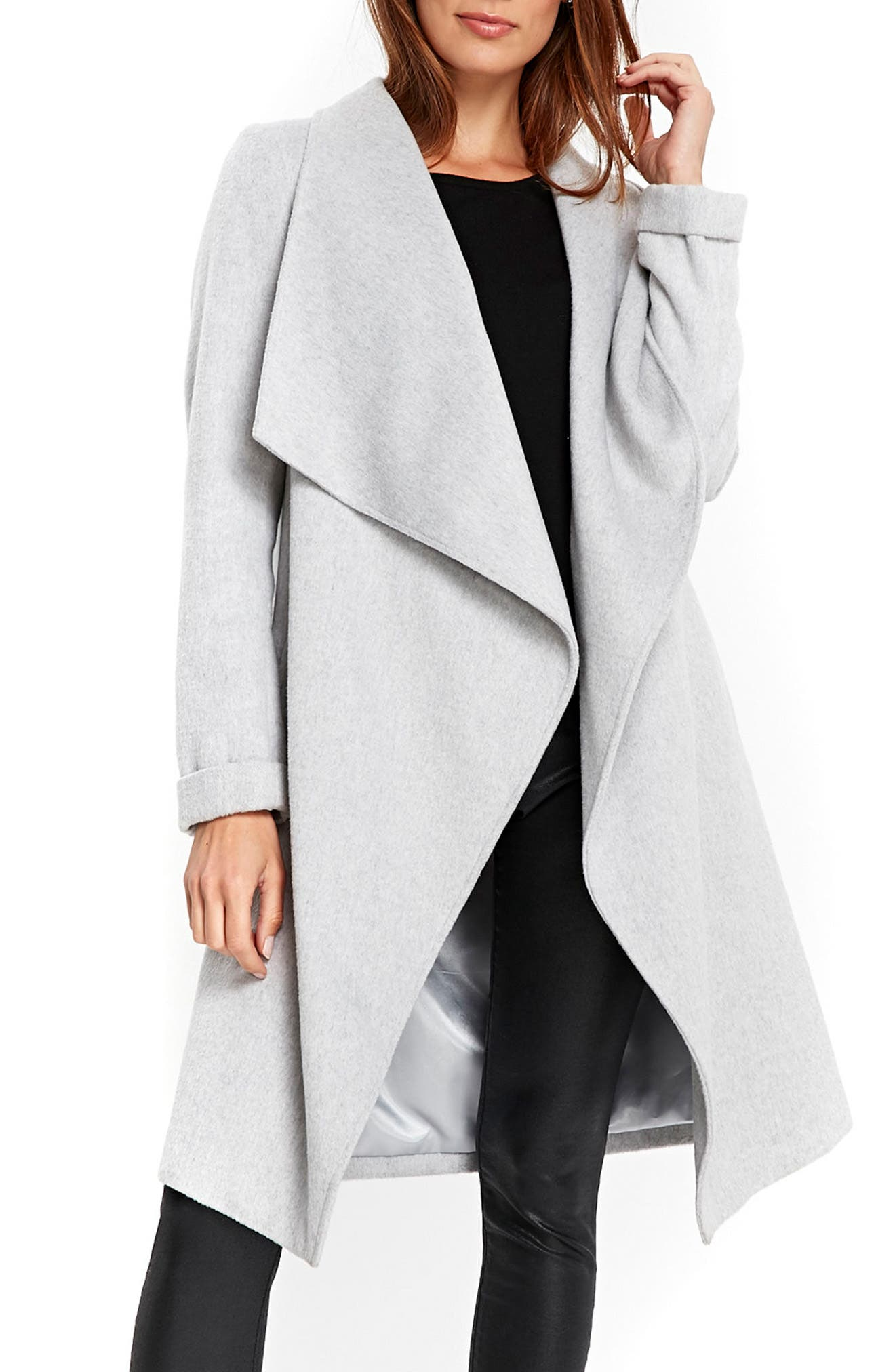 Wallis Drawn Waterfall Coat