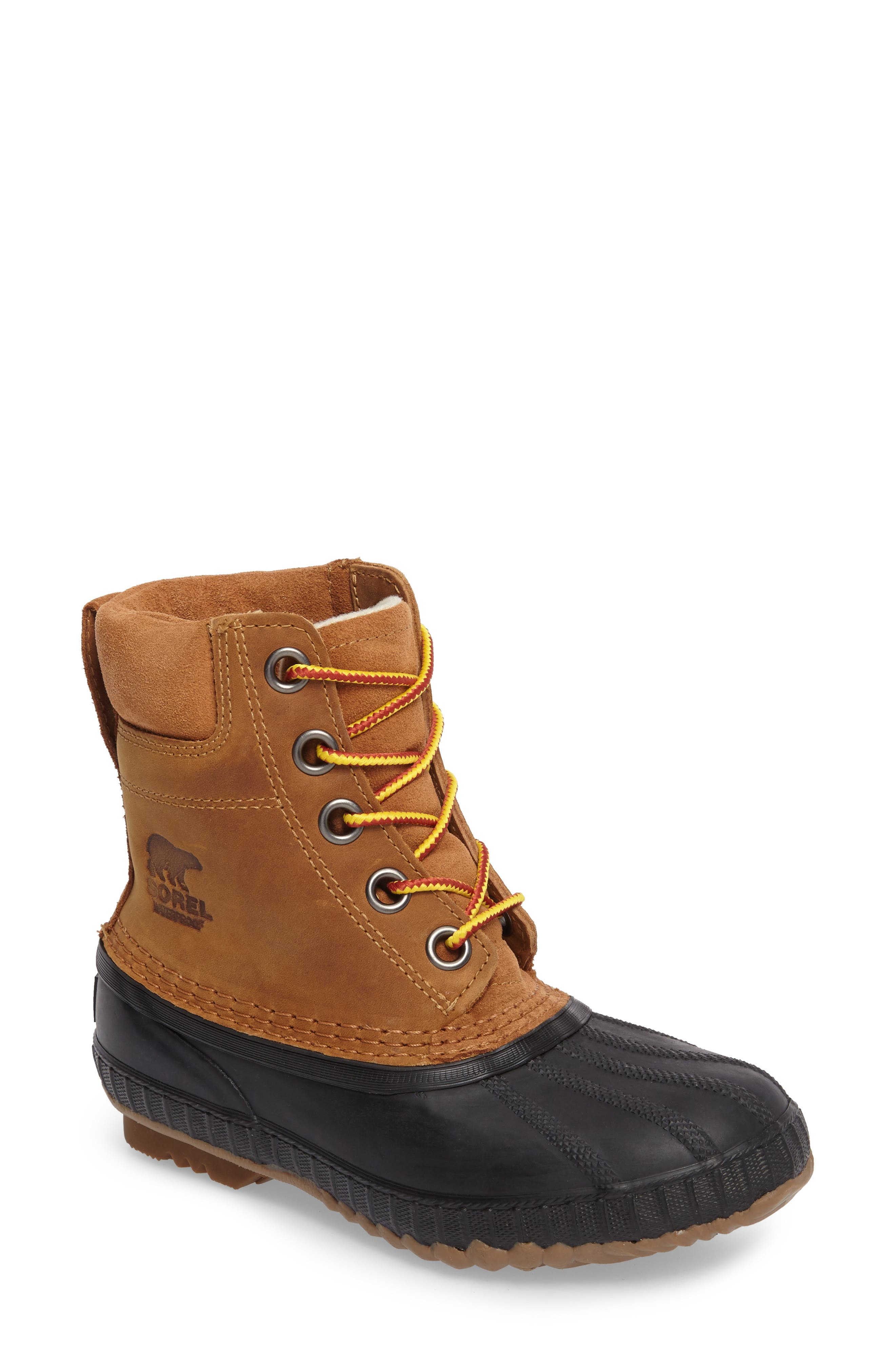 Cheyanne<sup>™</sup> II Waterproof Boot,                         Main,                         color, Elk Black