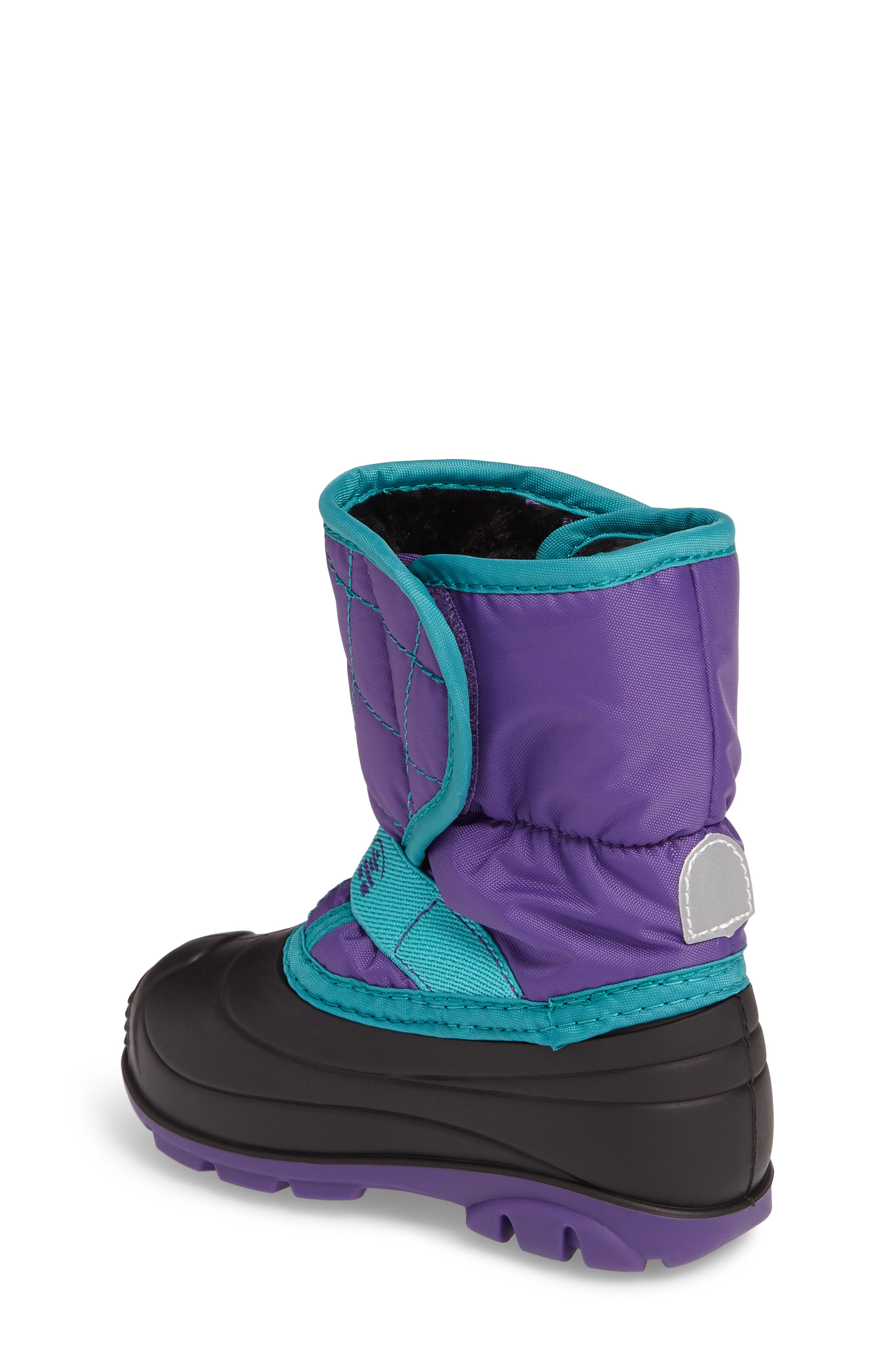 Alternate Image 2  - Kamik Pika2 Faux Fur Insulated Waterproof Snow Boot (Walker & Toddler)