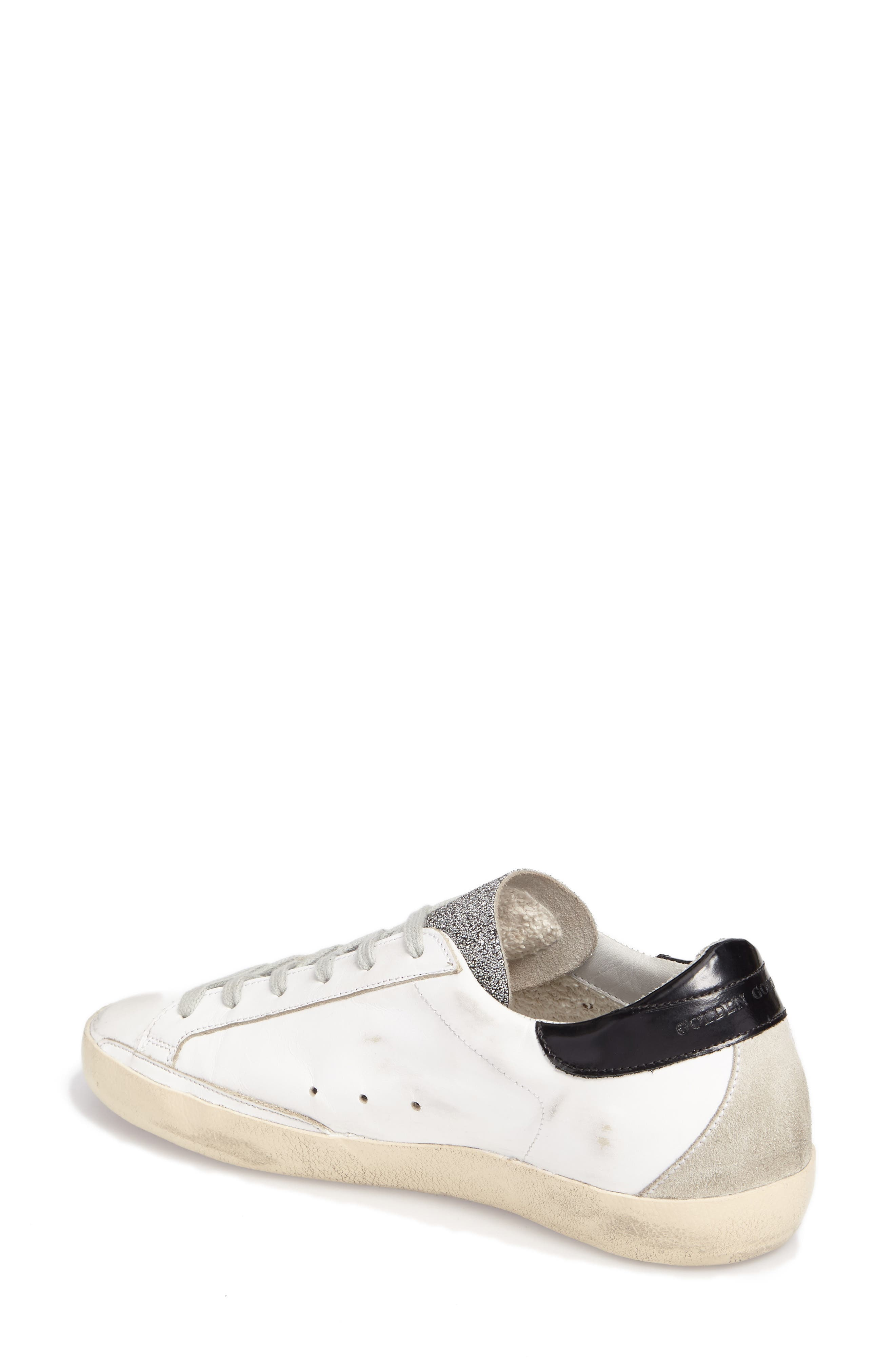 Superstar Low Top Sneaker,                             Alternate thumbnail 2, color,                             White