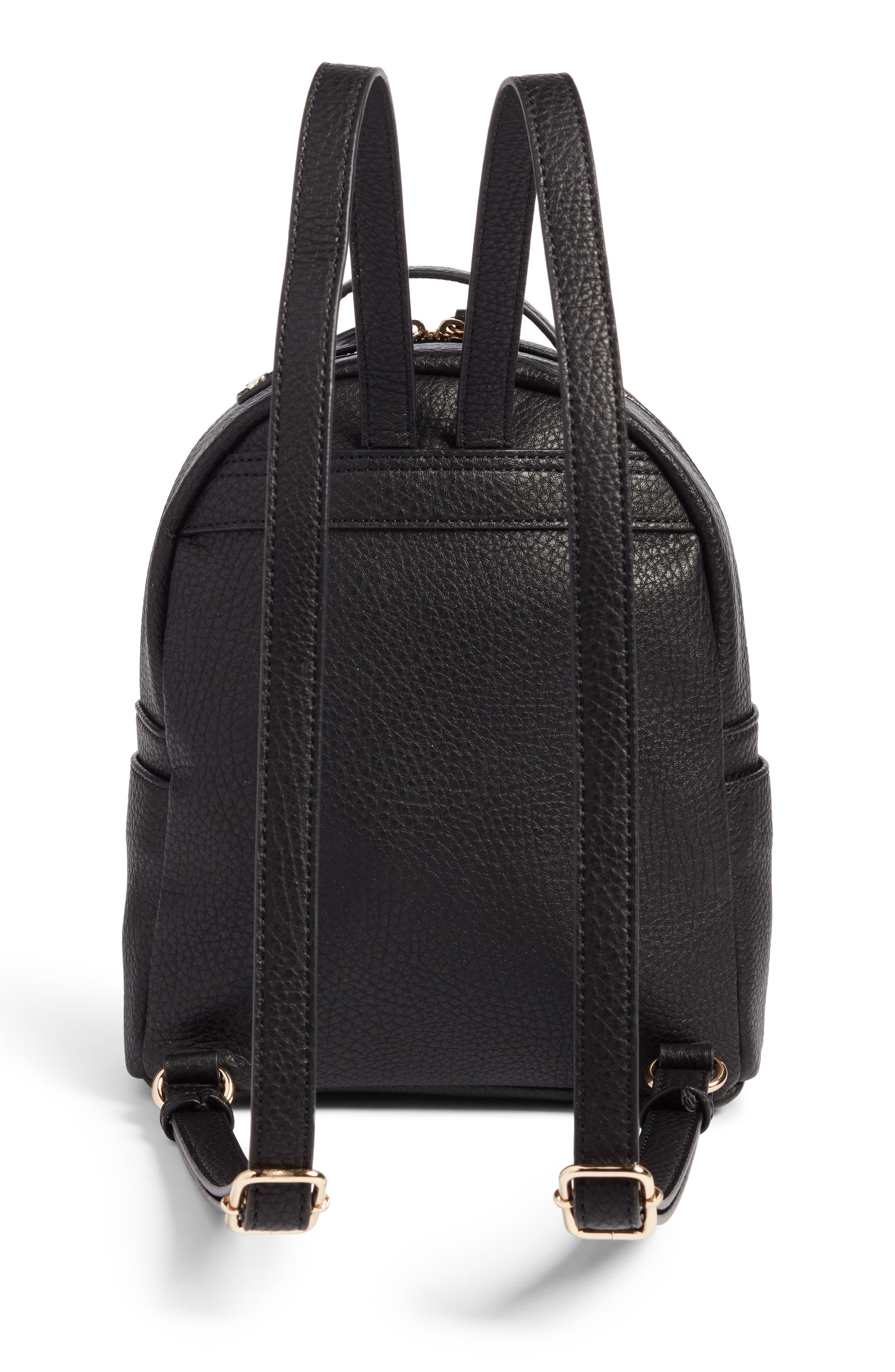 Alternate Image 3  - Mali + Lili Faux Leather Backpack